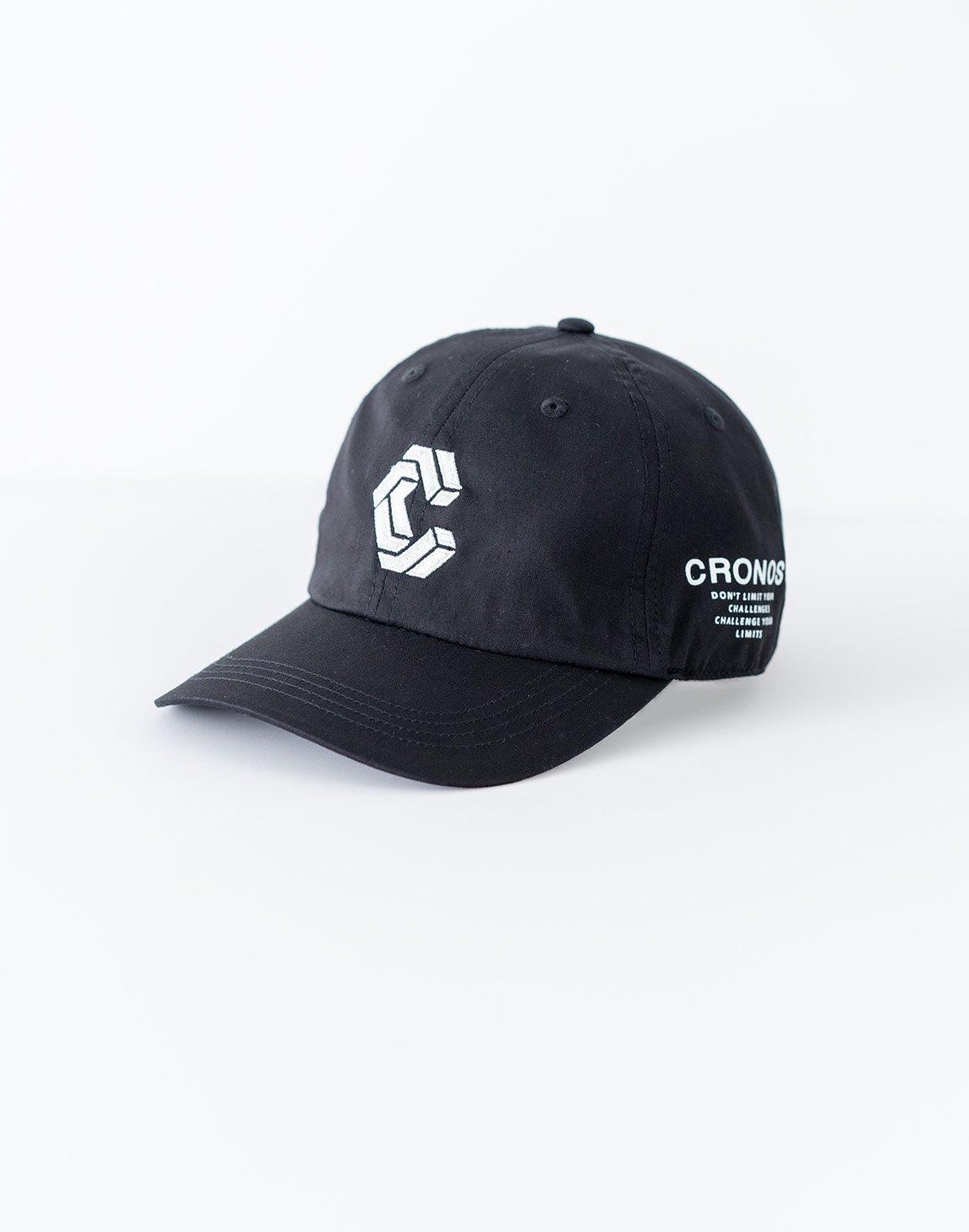 CRONOS Logo Cap-BLACK