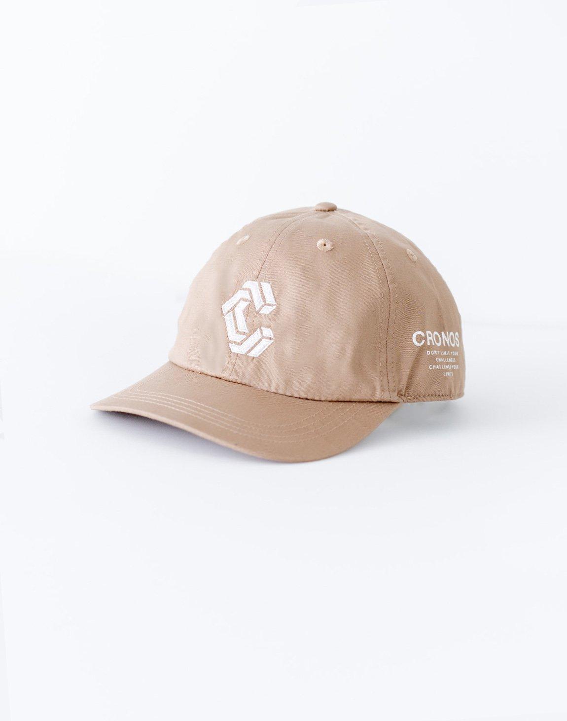 CRONOS Logo Cap-BEIGE