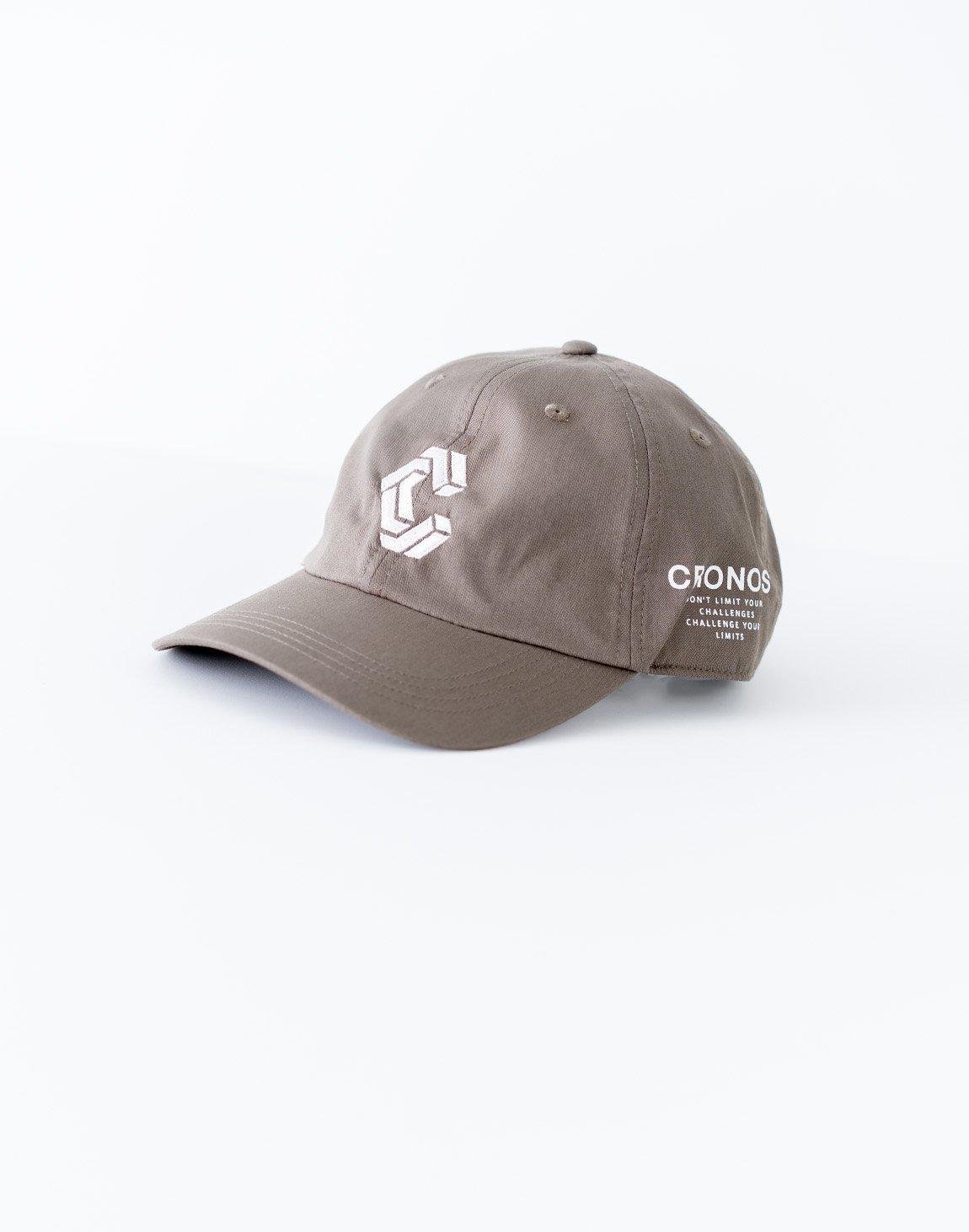 CRONOS Logo Cap-GRAY