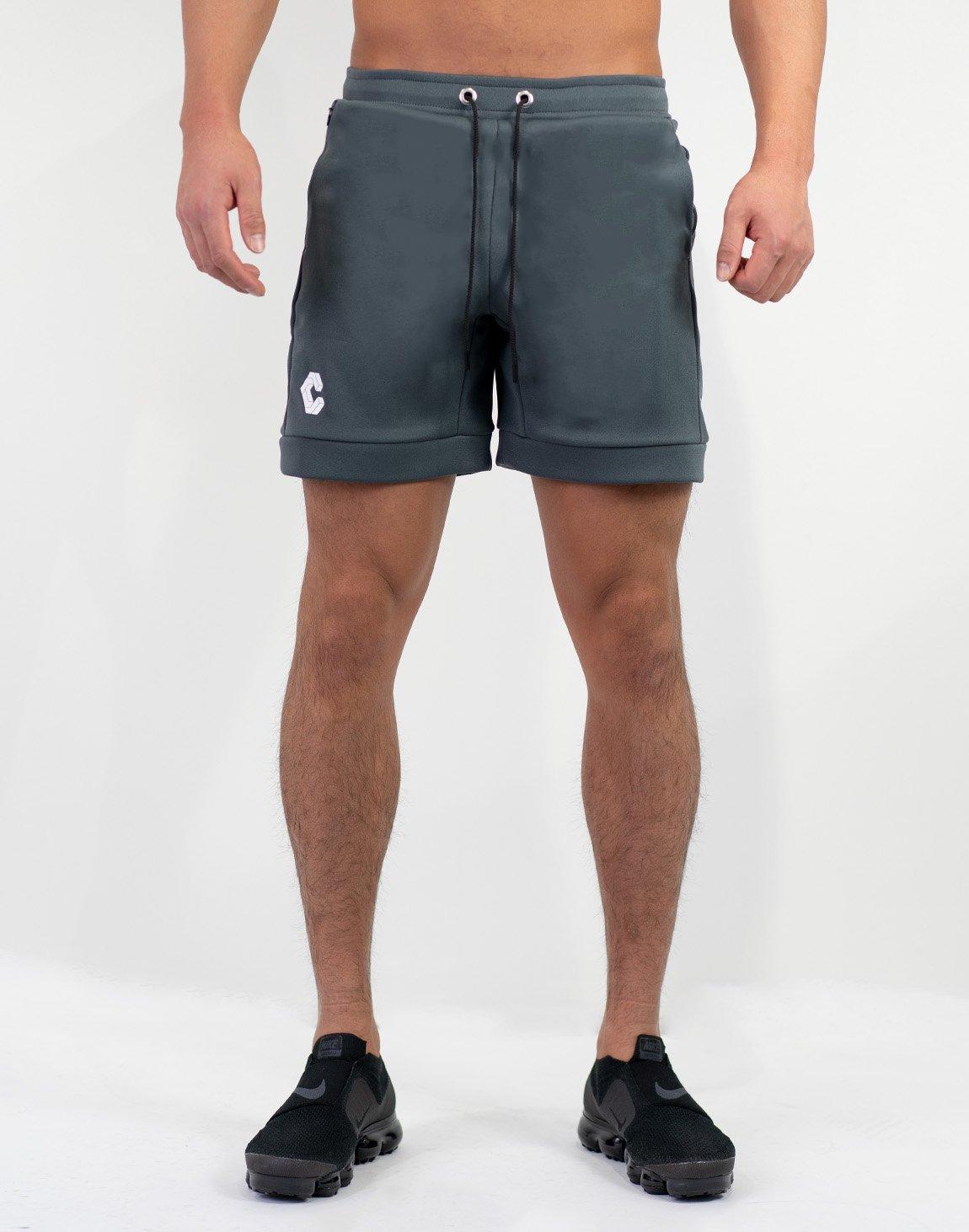 Side Logo Shorts Gray