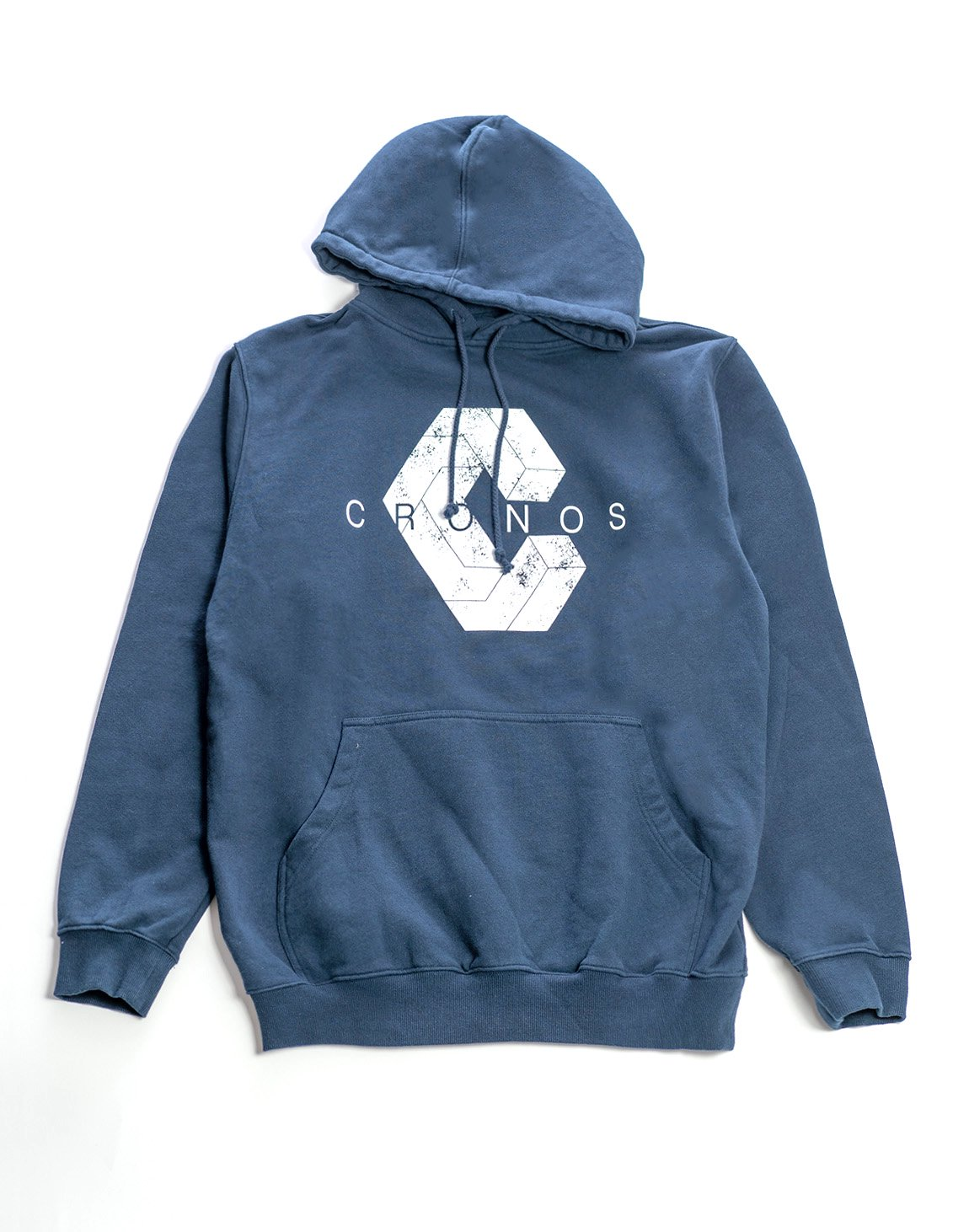 New Logo Pull Over Parka. Navy