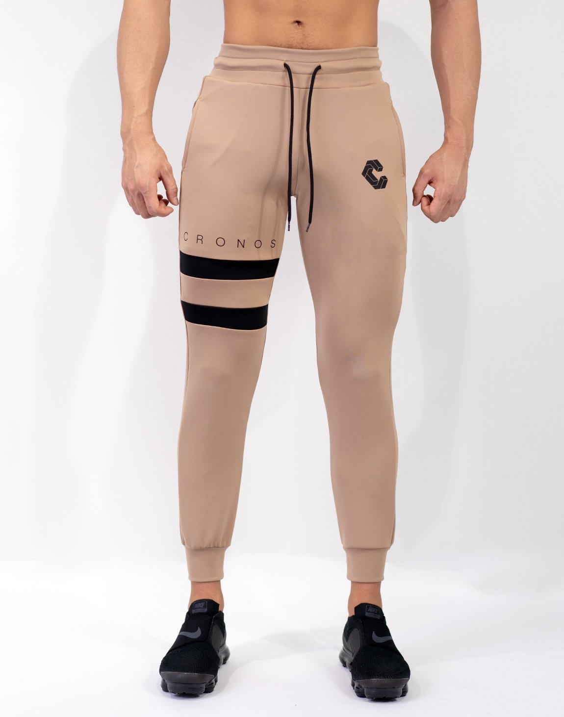 Mode Tow Line Jogger Pants Beige