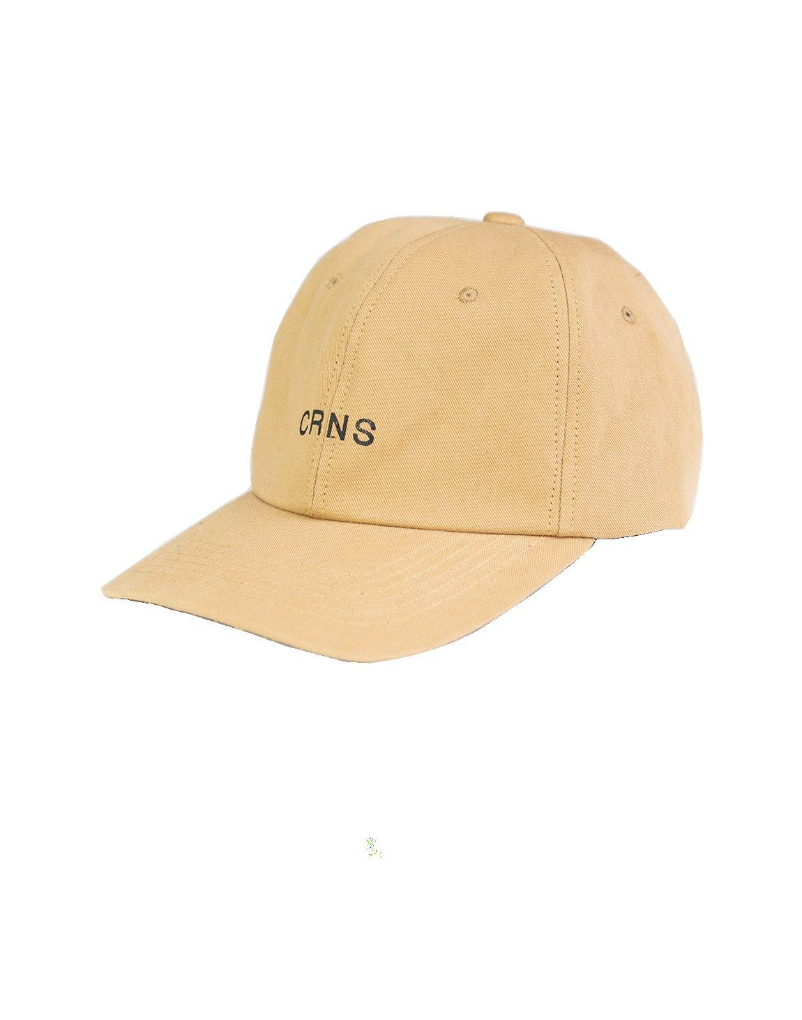 CRNS WASH LOGO CAP BEIGE