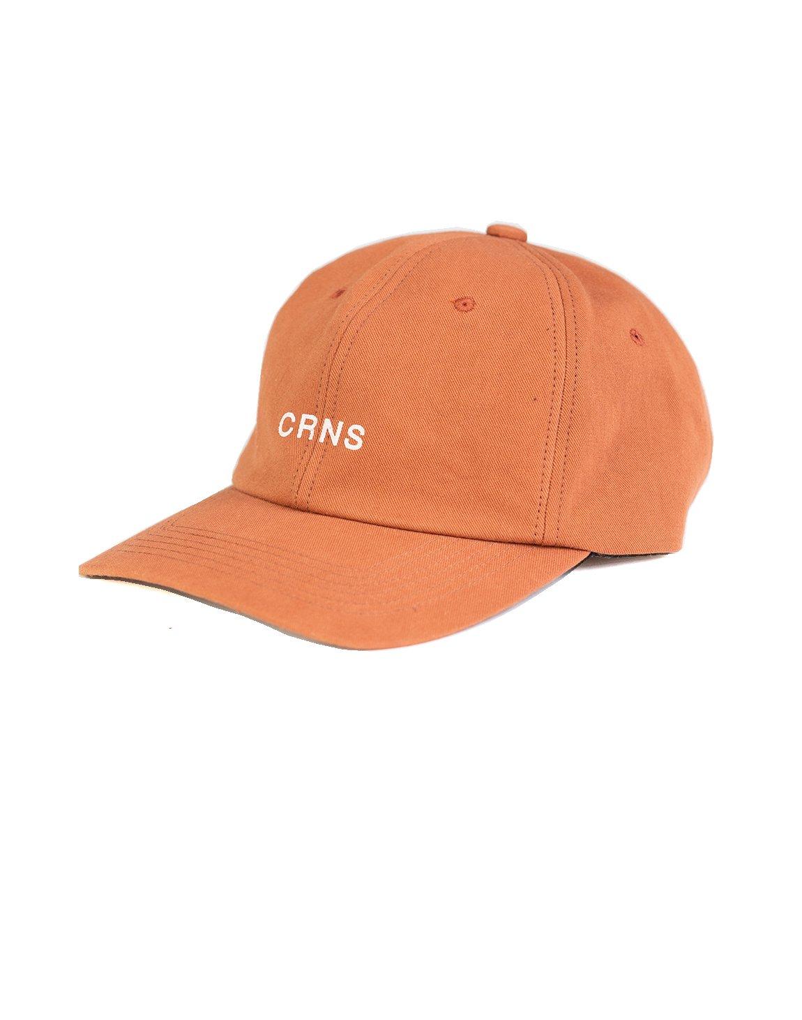 CRNS WASH LOGO CAP ORANGE