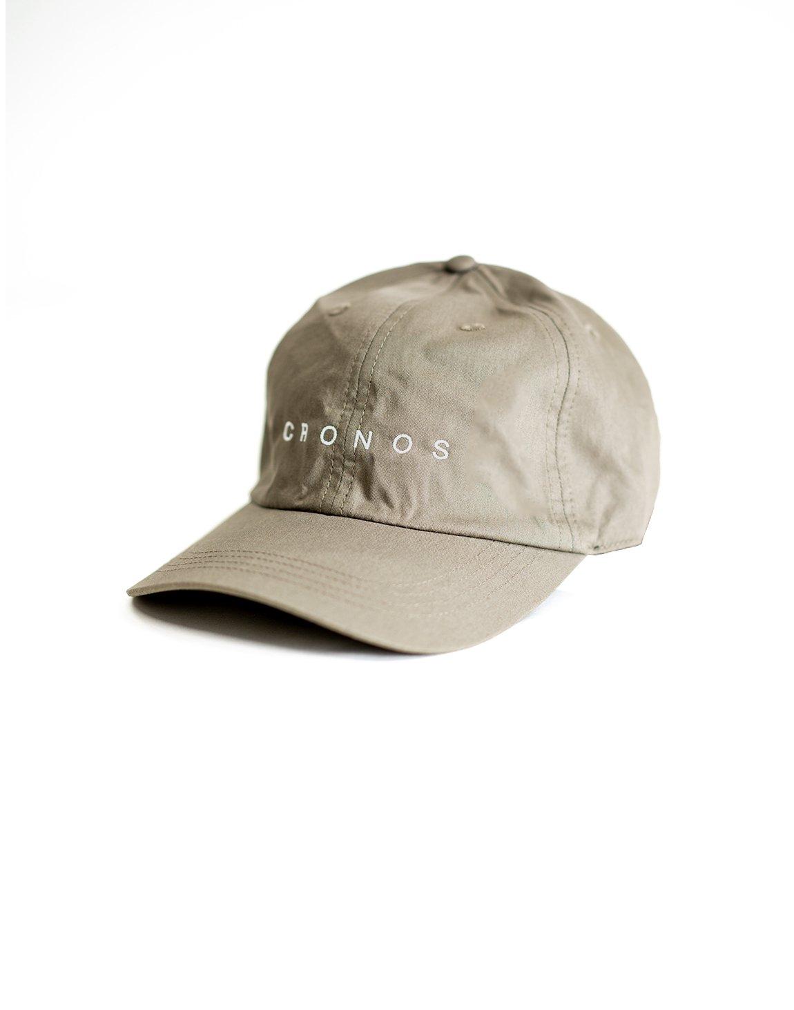 CRONOS LOGO CAP 【GRAY】