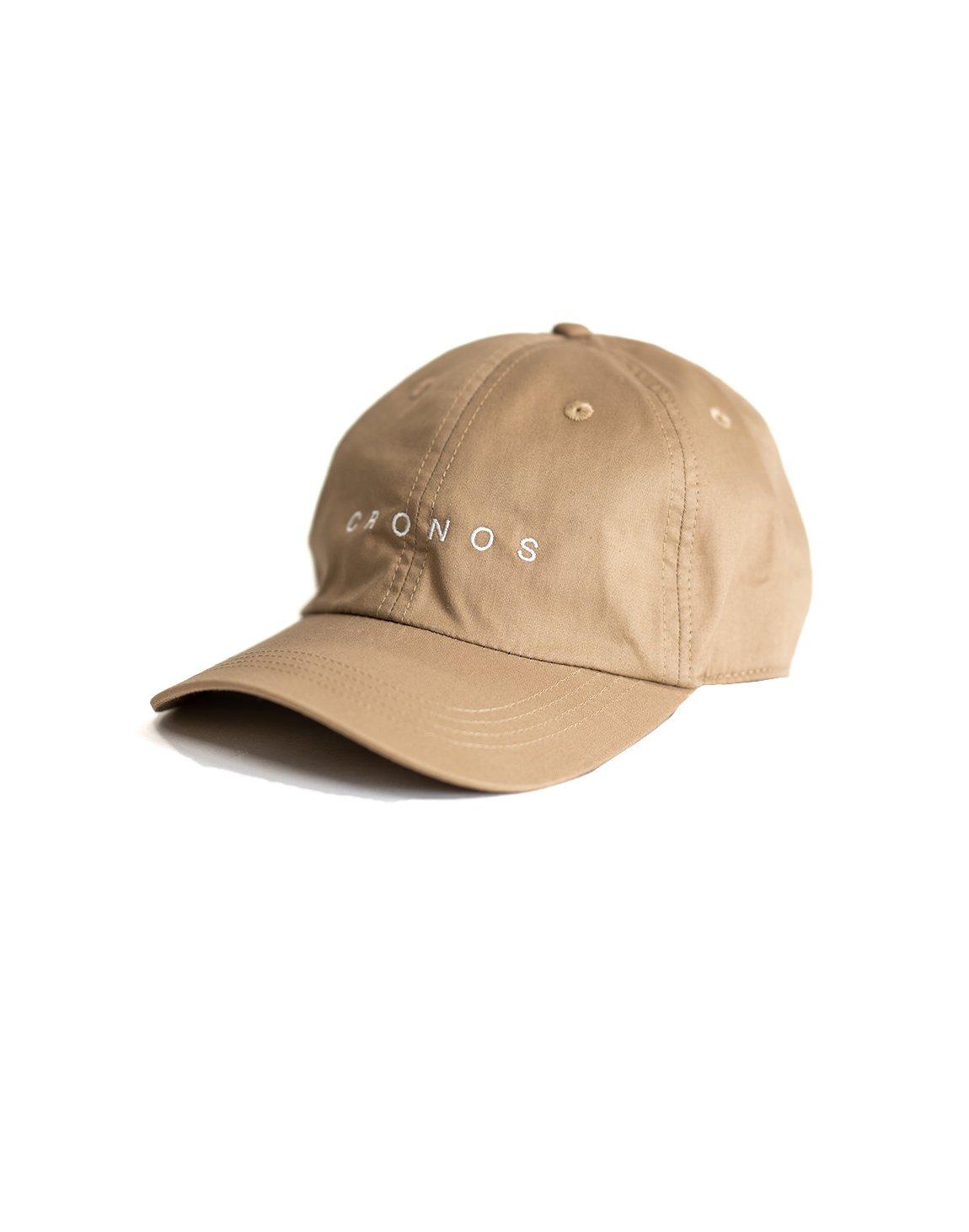 CRONOS LOGO CAP 【BEIGE】
