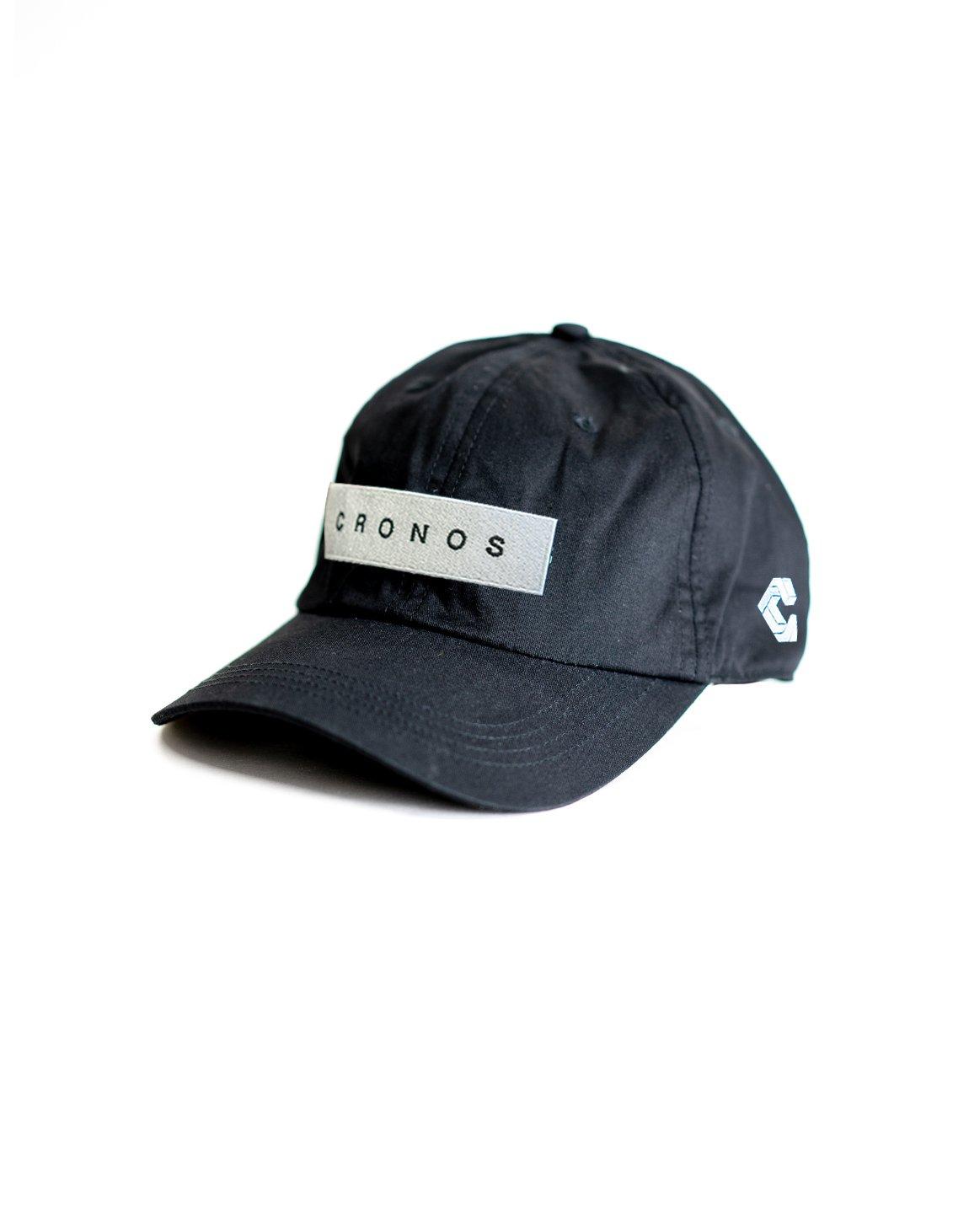 CRONOS BOX LOGO CAP 【BLACK】