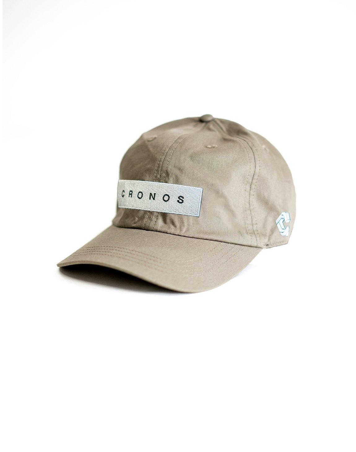 CRONOS BOX LOGO CAP 【GRAY】