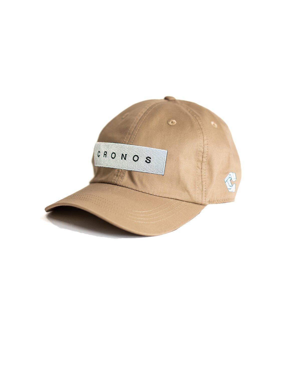 CRONOS BOX LOGO CAP 【BEIGE】