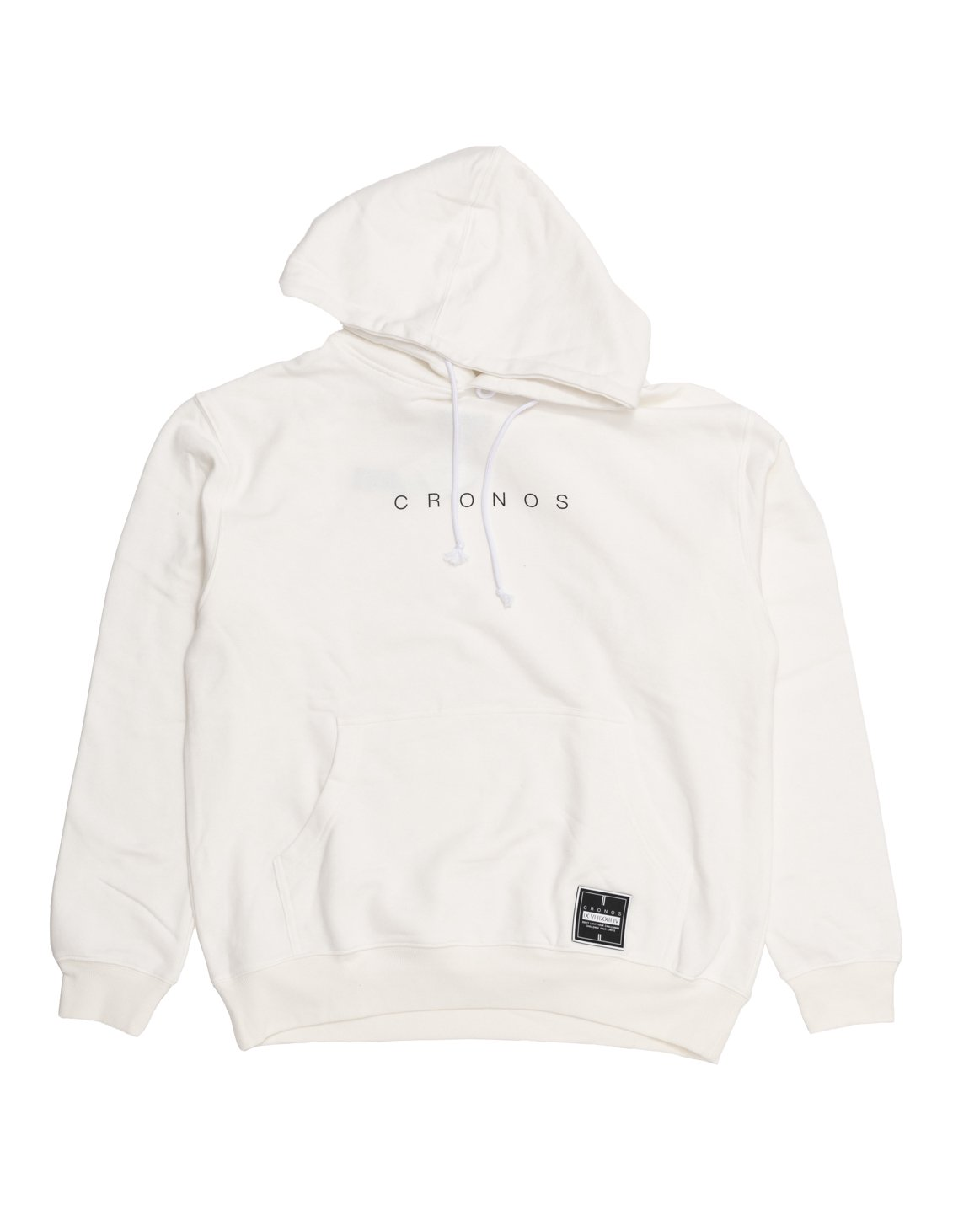 CRONOS NUMERALS PATCH PARKA 【WHITE】