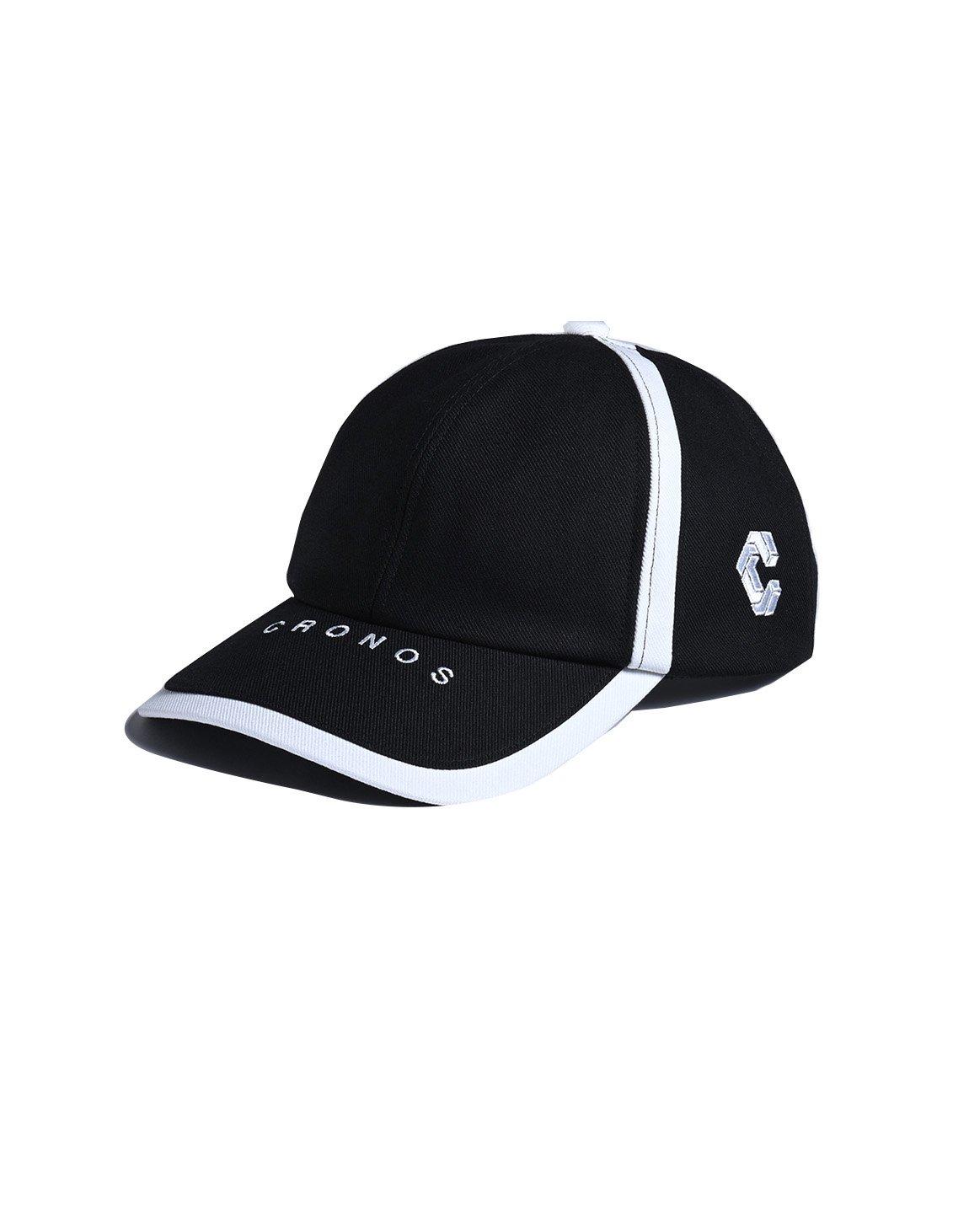 CRONOS LINE TAPE CAP 【BLACK】