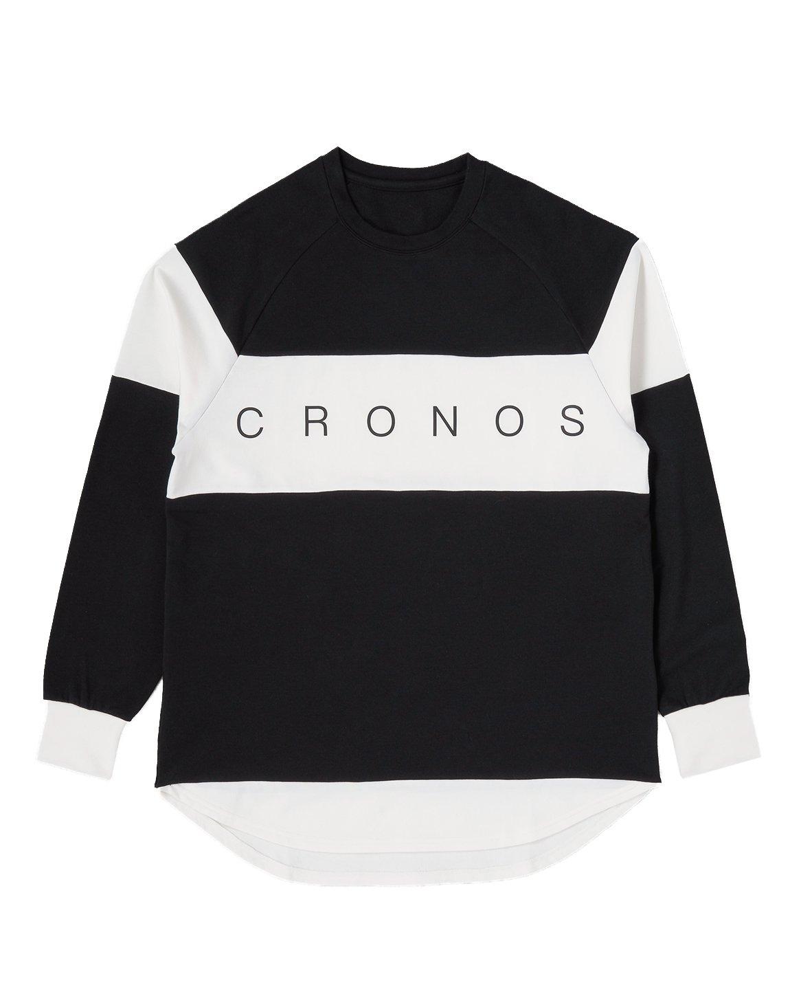 CRONOS Bi-COLOR  LONG SLEEVE【BLACK】
