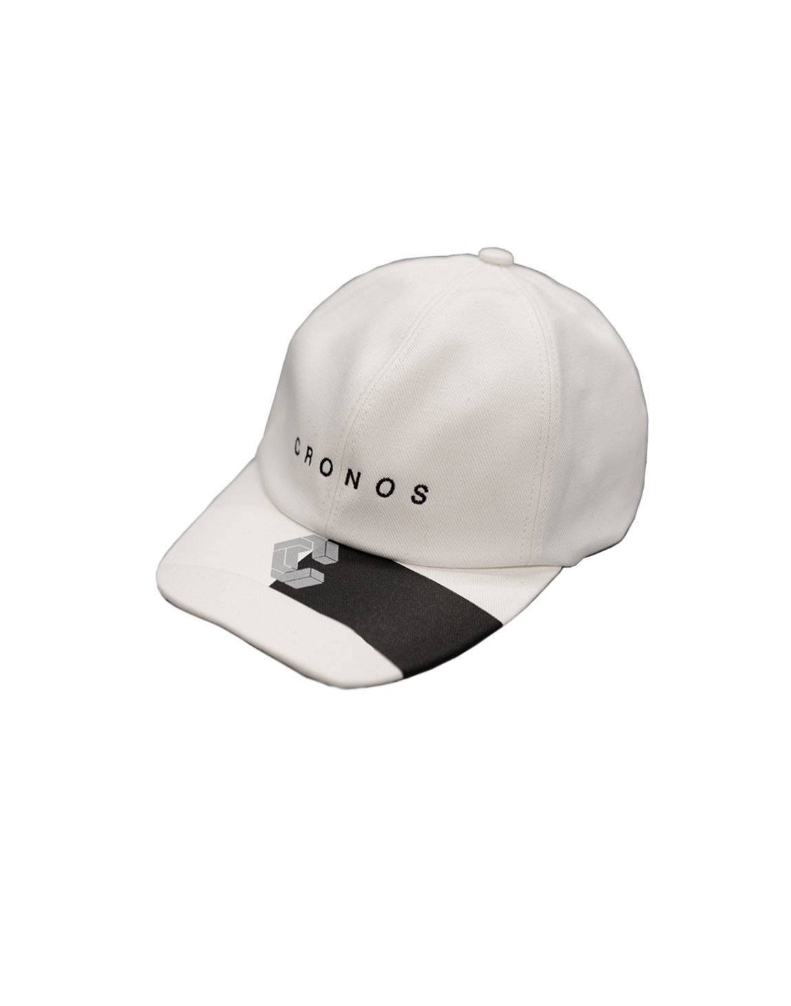 CRONOS HALF COLOR CAP 【WHITE】