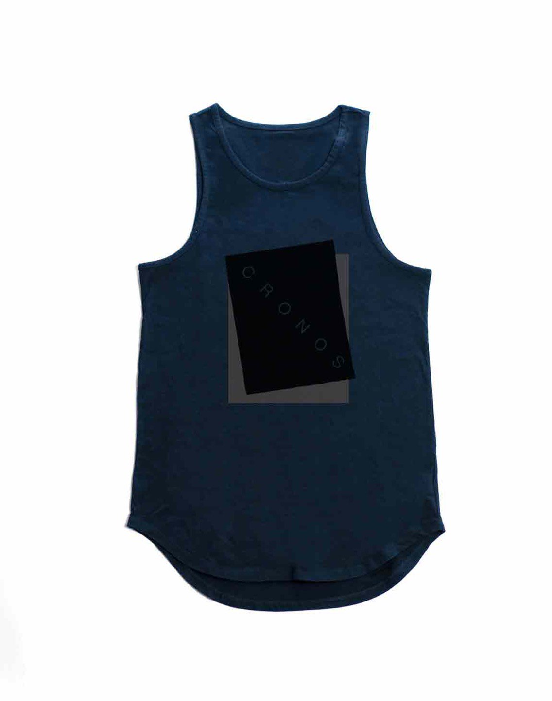 <img class='new_mark_img1' src='https://img.shop-pro.jp/img/new/icons55.gif' style='border:none;display:inline;margin:0px;padding:0px;width:auto;' />CRONOS NEW BOX LOGO TANKTOP【NAVY】