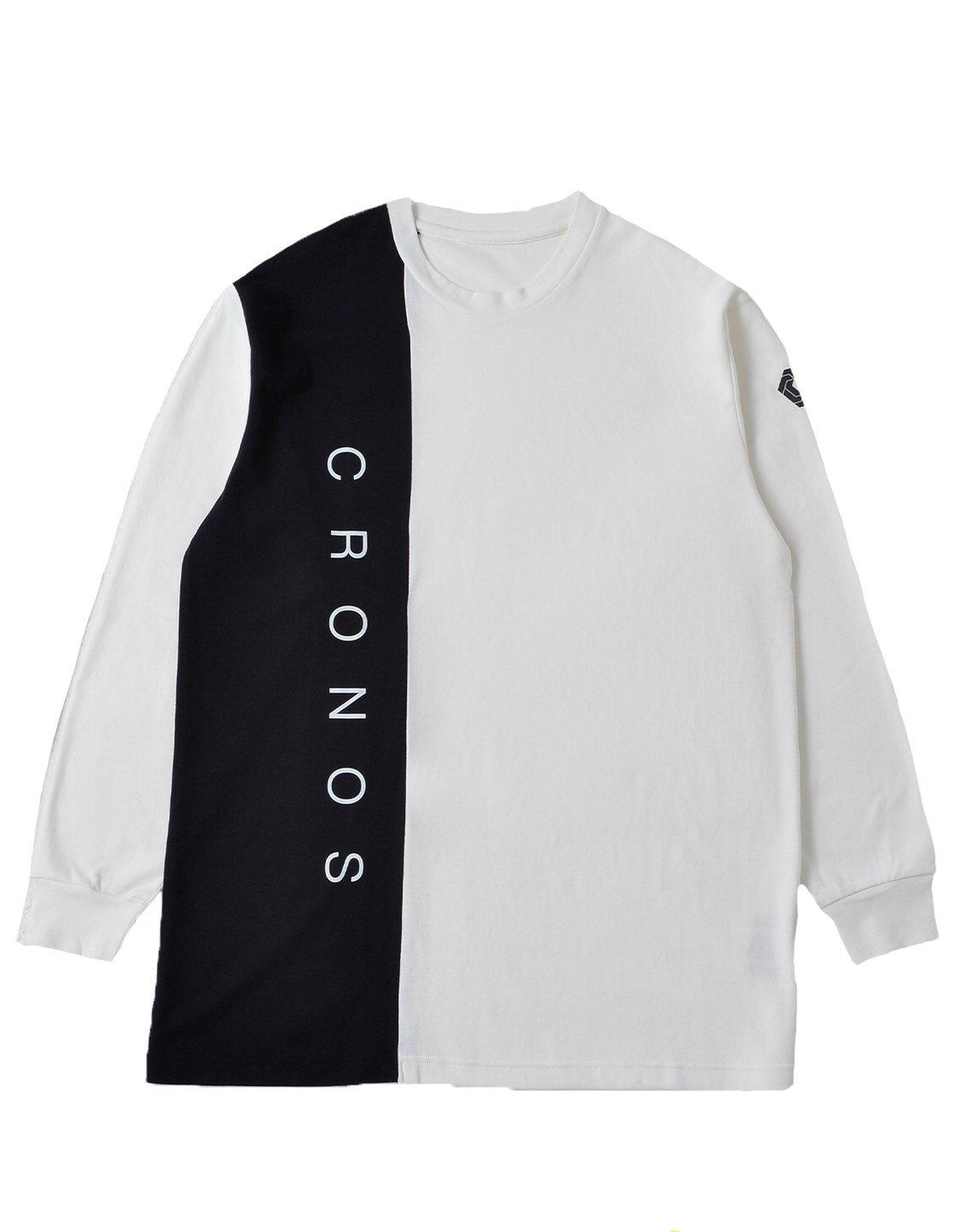 CRONOS RIGHT SIDE LINE LONGSLEEVE【WHITE】