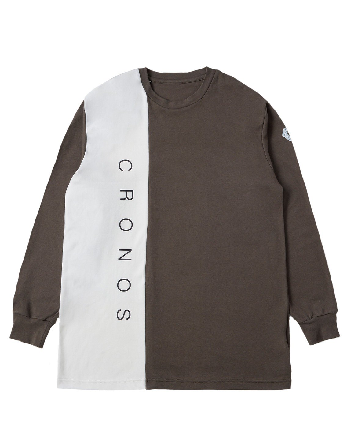 <img class='new_mark_img1' src='https://img.shop-pro.jp/img/new/icons55.gif' style='border:none;display:inline;margin:0px;padding:0px;width:auto;' />CRONOS RIGHT SIDE LINE LONGSLEEVE【KHAKI】