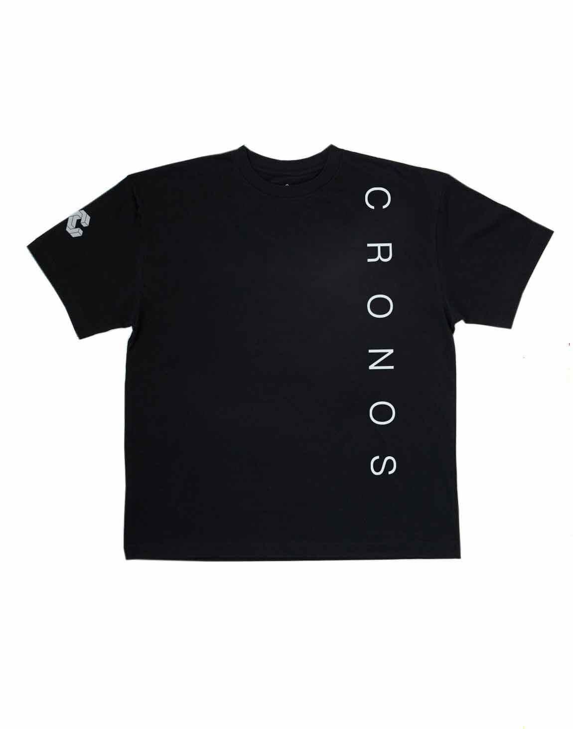 CRONOS SIMPLE LOGO T-SHIRTS【BLACK】