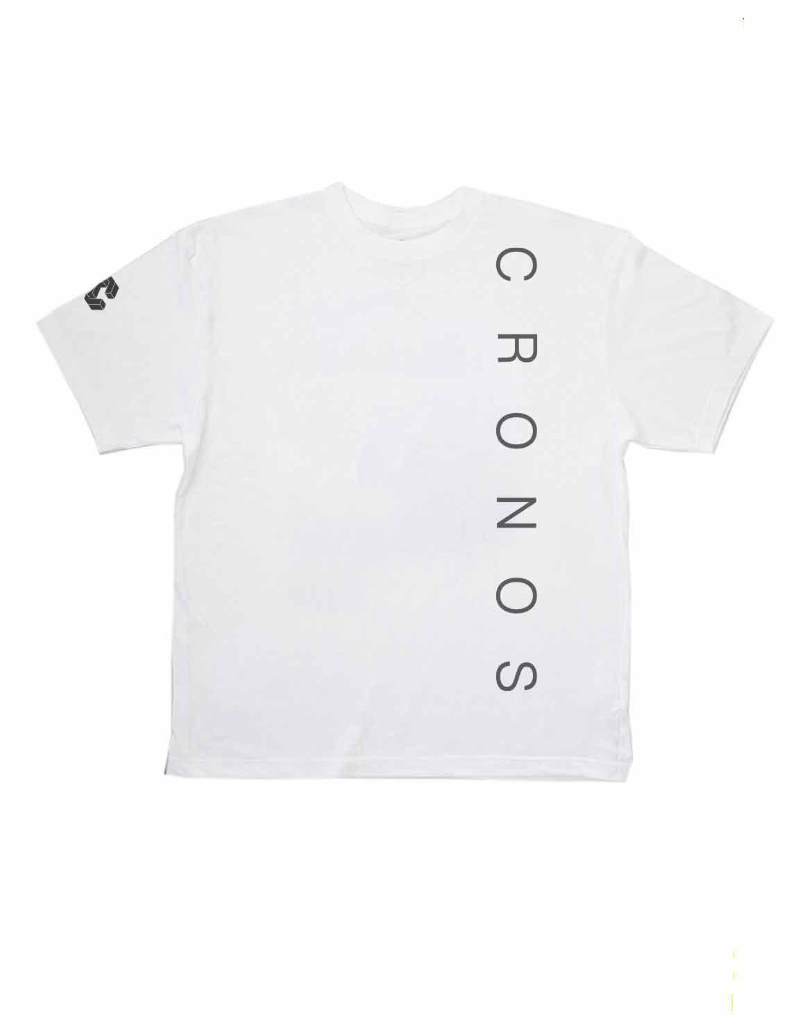 CRONOS SIMPLE LOGO T-SHIRTS【WHITE】