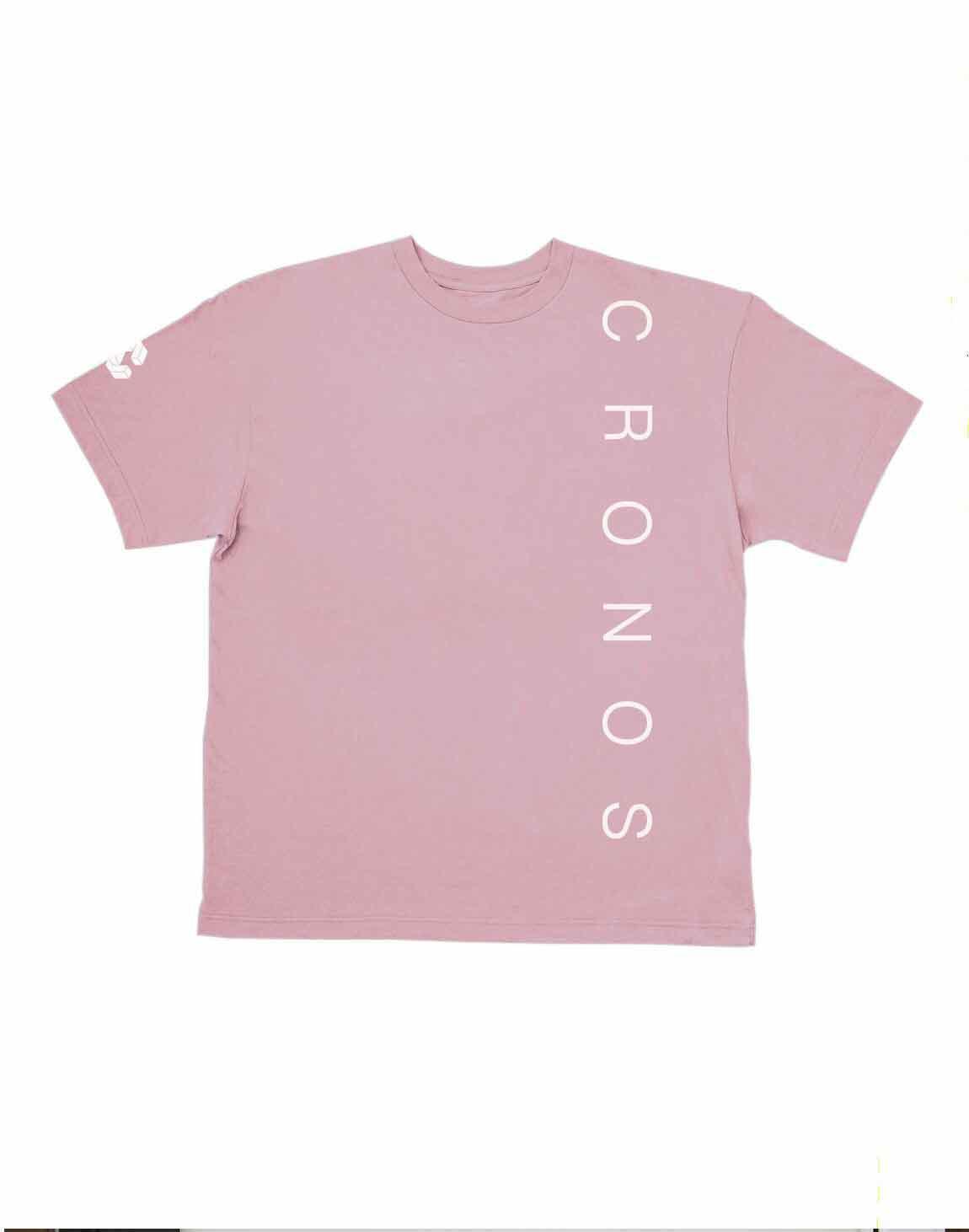 CRONOS SIMPLE LOGO T-SHIRTS【PINK】