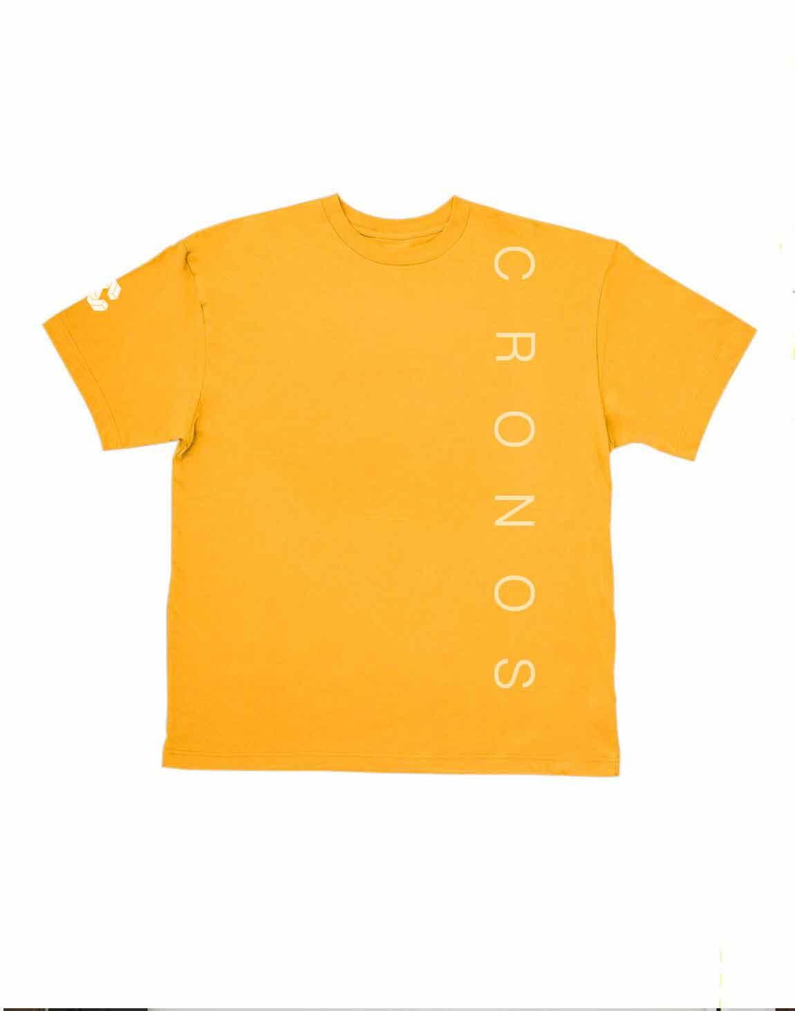 CRONOS SIMPLE LOGO T-SHIRTS【YELLOW】