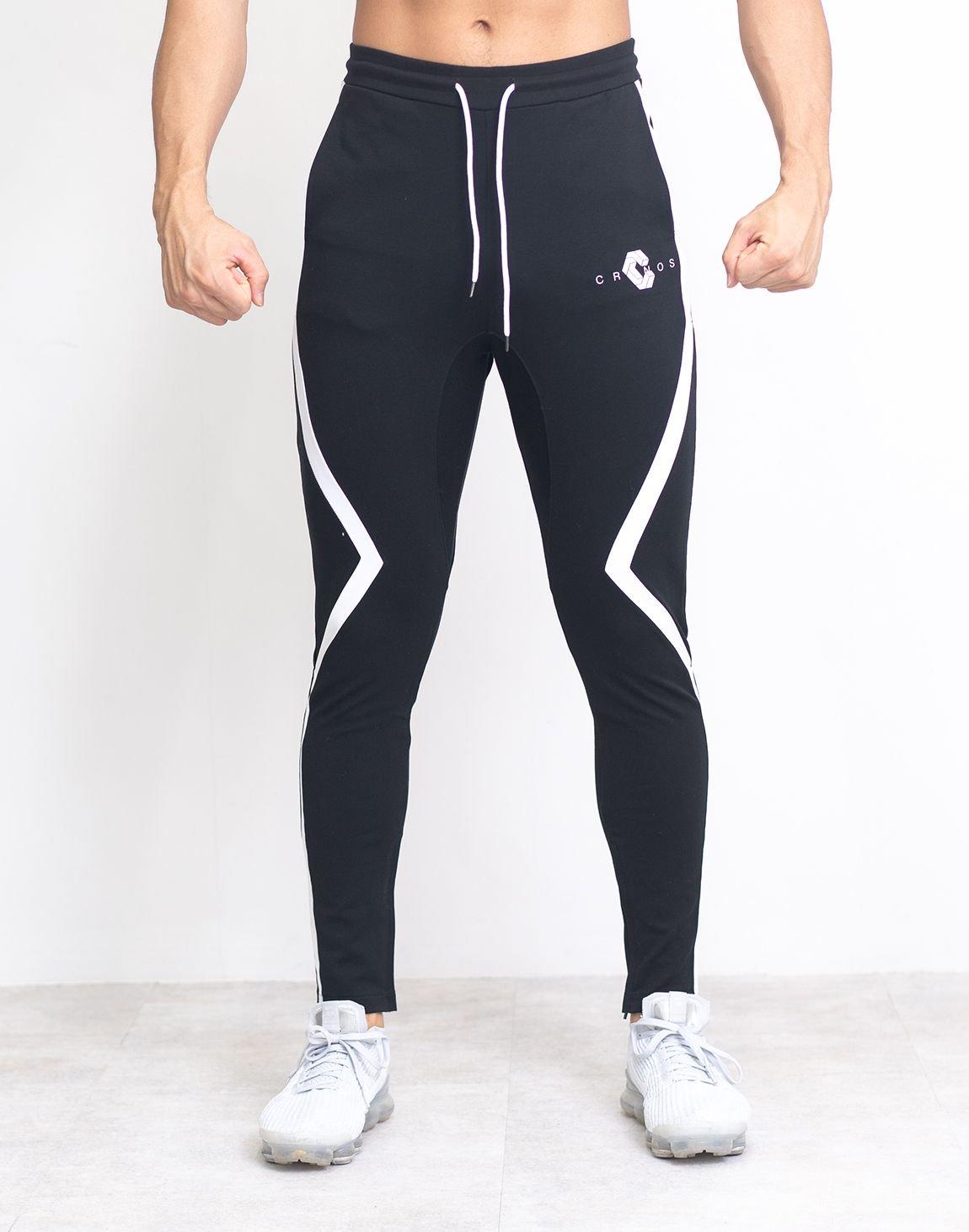 CRONOS CORNER LINE PANTS【BLACK】