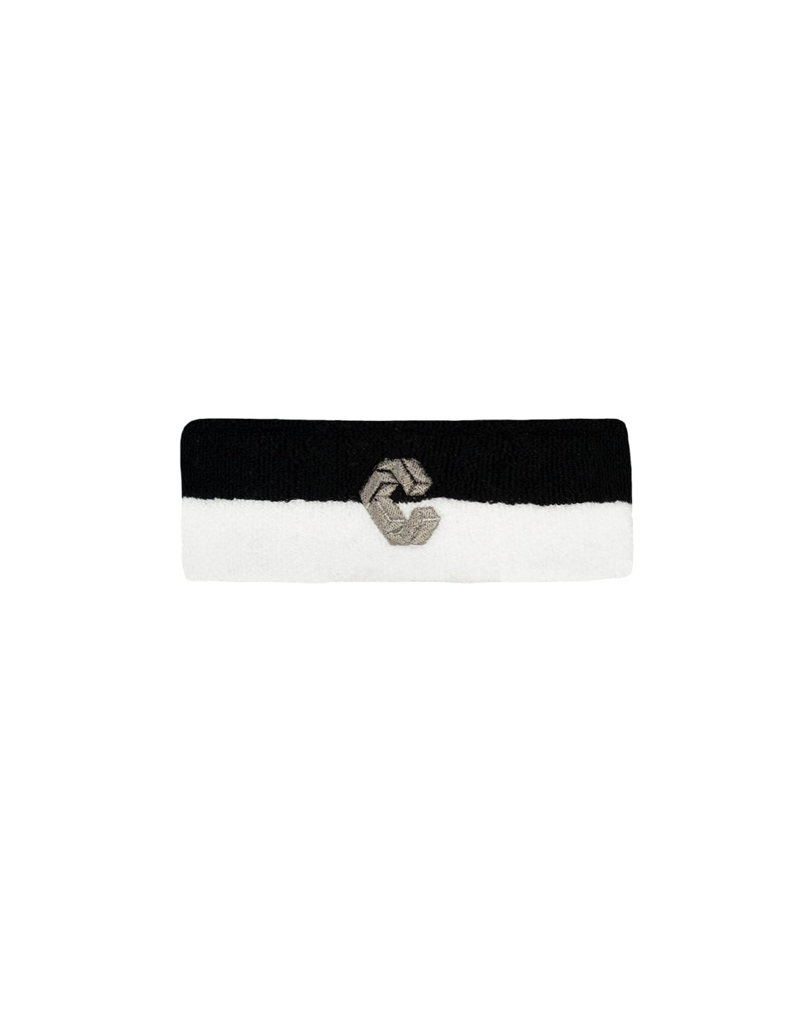 CRONOS BI-COLOR HEAD BAND【BLACK×WHITE】