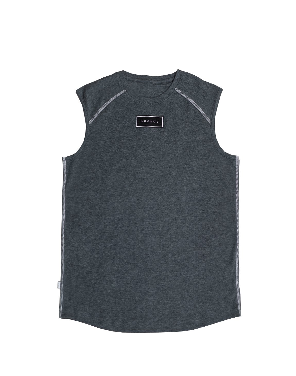<img class='new_mark_img1' src='https://img.shop-pro.jp/img/new/icons55.gif' style='border:none;display:inline;margin:0px;padding:0px;width:auto;' />FRONT PATCH LOGO SLEEVELESS【C.GRAY】