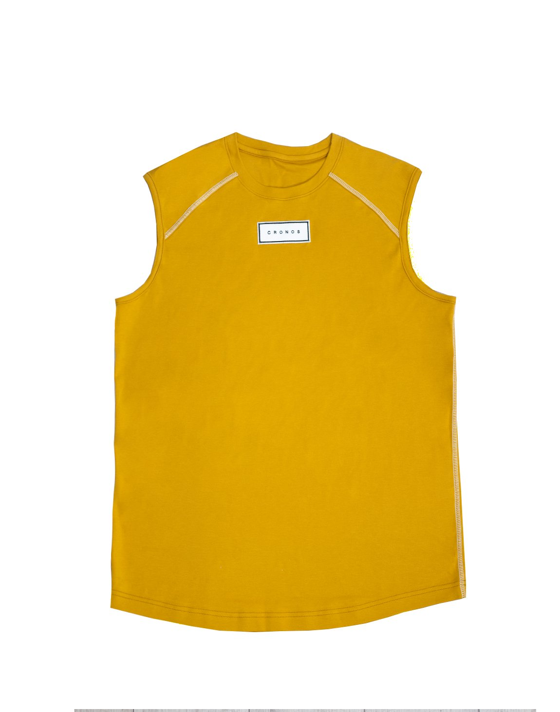 <img class='new_mark_img1' src='https://img.shop-pro.jp/img/new/icons55.gif' style='border:none;display:inline;margin:0px;padding:0px;width:auto;' />FRONT PATCH LOGO SLEEVELESS【YELLOW】