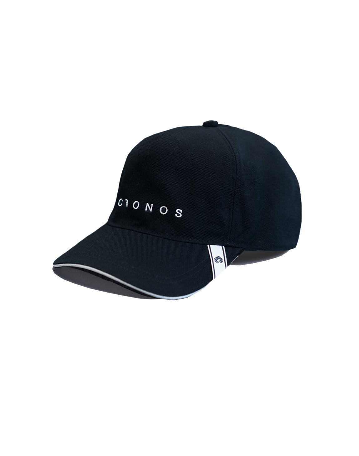 CRONOS FONT LOGO CAP【BLACK】