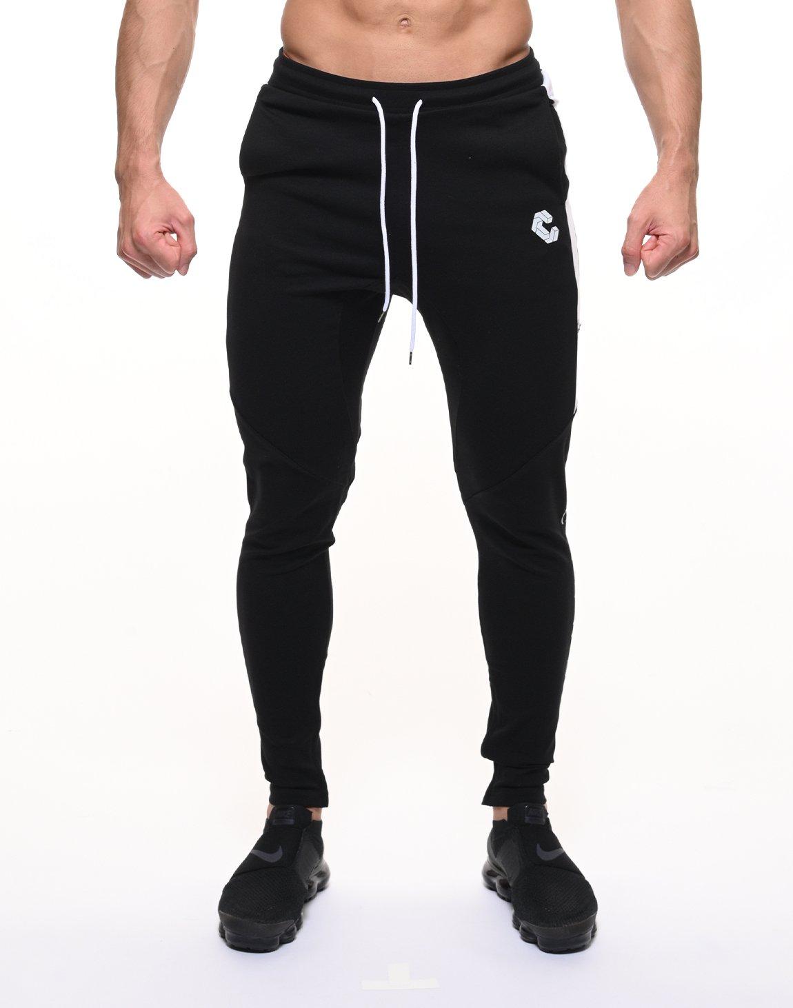 CRONOS HALF LINE PANTS【BLACK】
