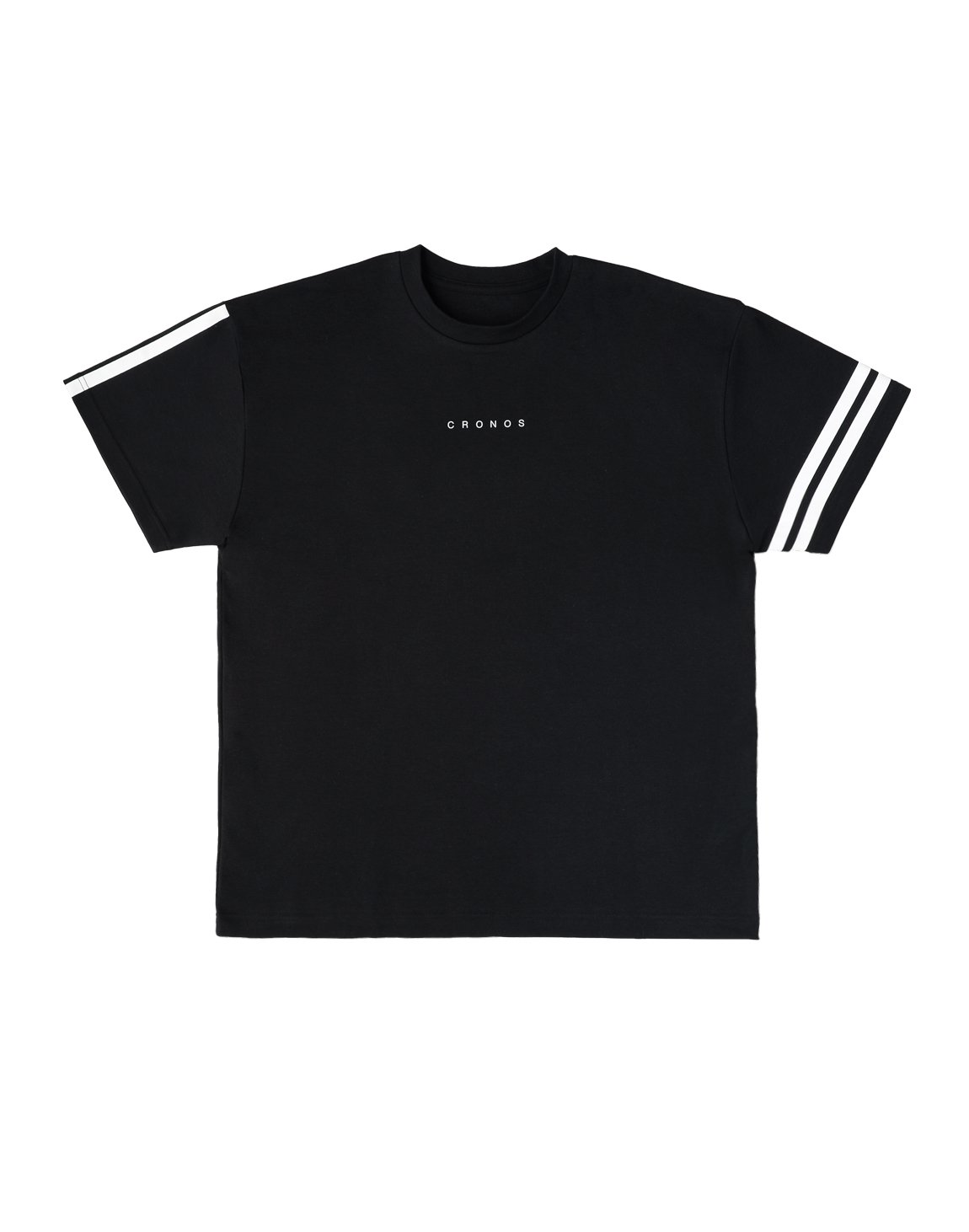 <img class='new_mark_img1' src='https://img.shop-pro.jp/img/new/icons55.gif' style='border:none;display:inline;margin:0px;padding:0px;width:auto;' />CRONOS  SIDE  LINE NEW OVER SIZE T-SHIRTS【BLACK】