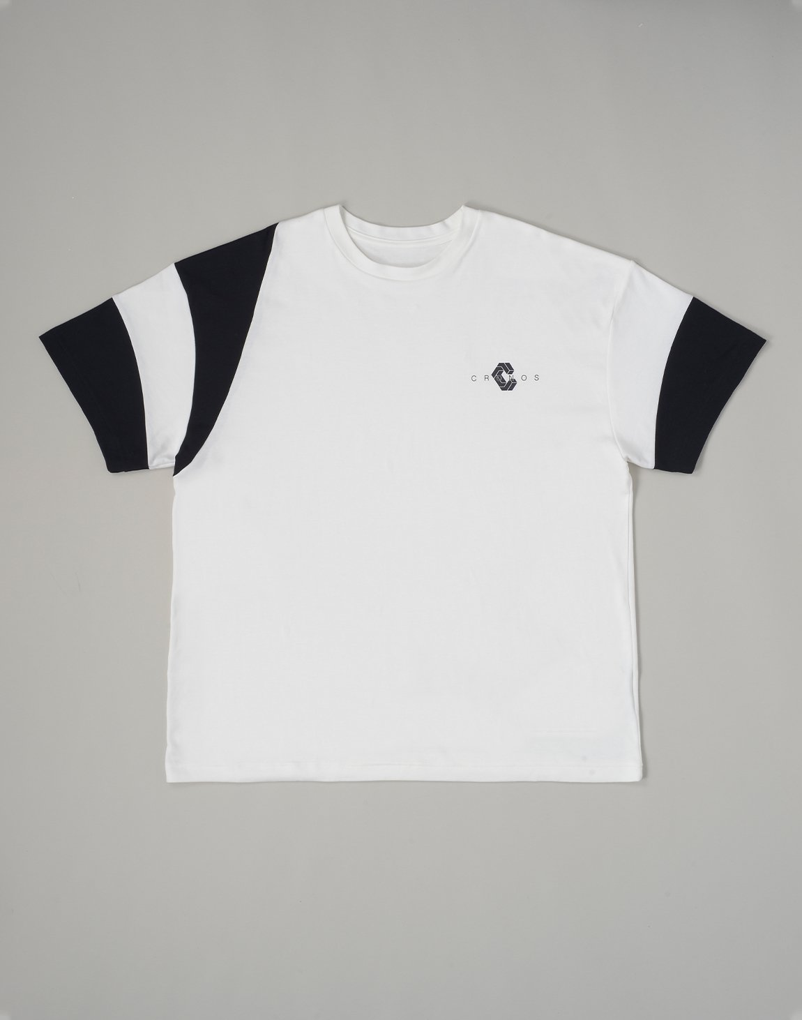 <img class='new_mark_img1' src='https://img.shop-pro.jp/img/new/icons55.gif' style='border:none;display:inline;margin:0px;padding:0px;width:auto;' />CRONOS BICEPS LINE OVERSIZE T-SHIRTS【WHITE】