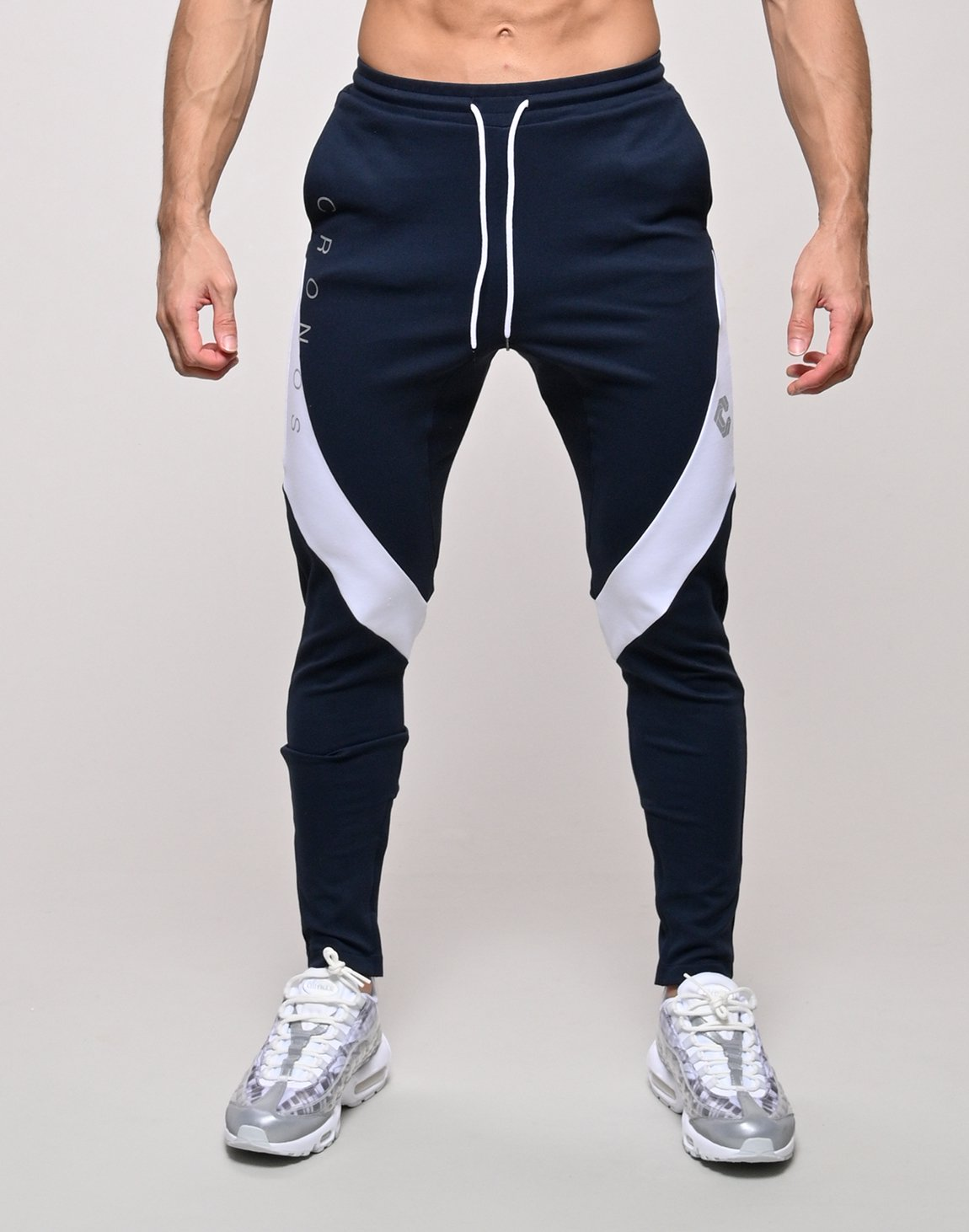 CRONOS QUADRICEPS LINE PANTS【NAVY】