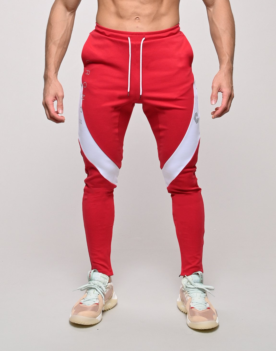CRONOS QUADRICEPS LINE PANTS【RED】
