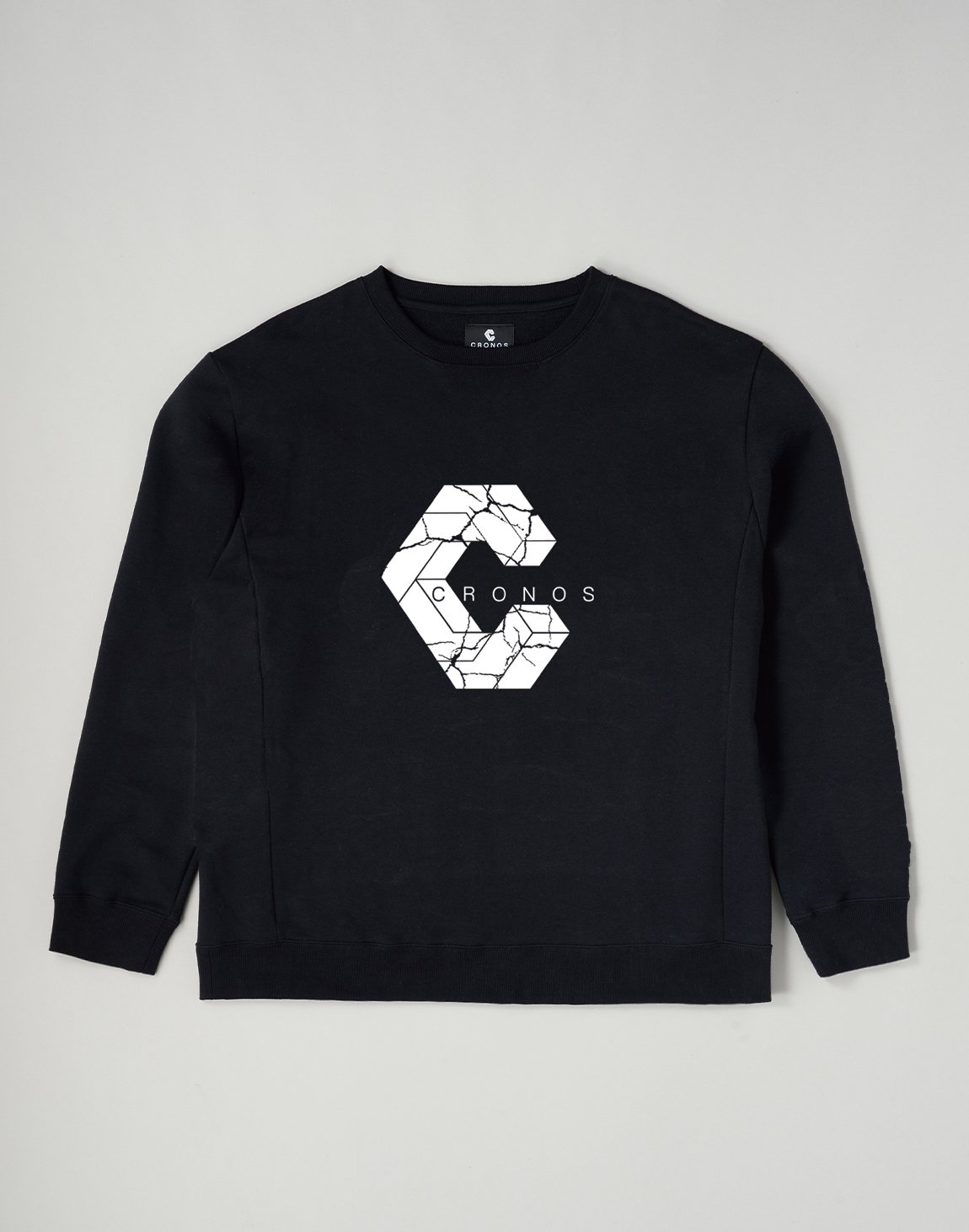 CRONOS SIGNATURE LOGO SWEATSHIRT【BLACK】