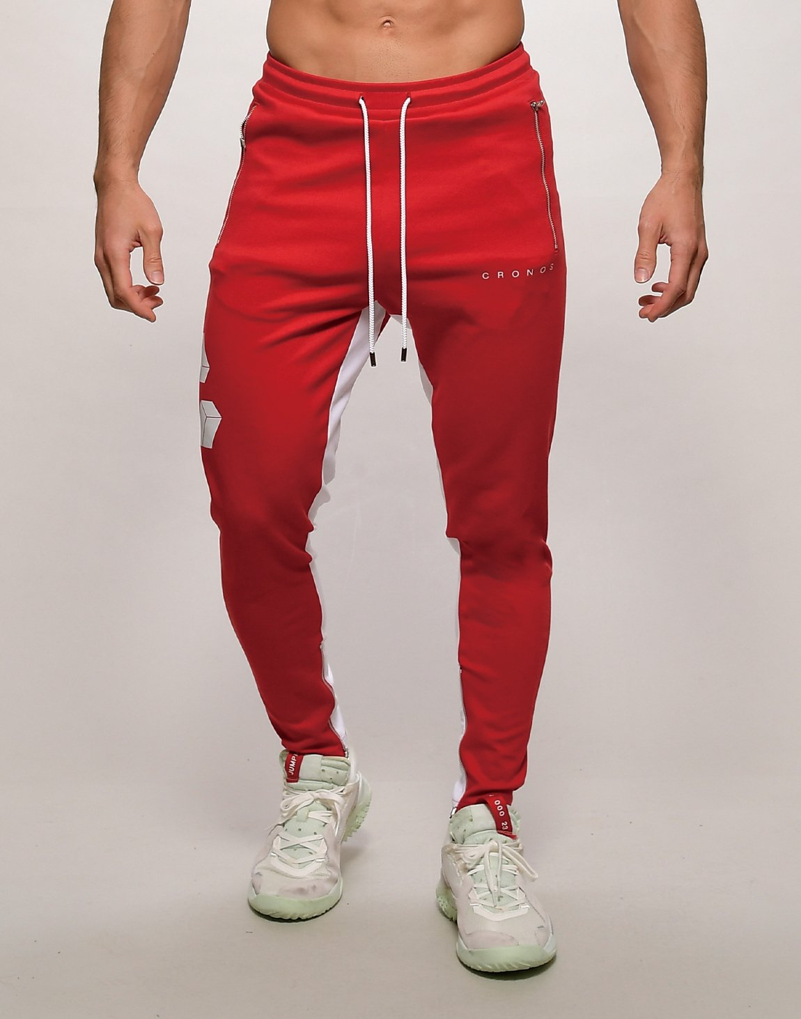 <img class='new_mark_img1' src='https://img.shop-pro.jp/img/new/icons55.gif' style='border:none;display:inline;margin:0px;padding:0px;width:auto;' />CRONOS BIG LOGO SWEET PANTS【RED】