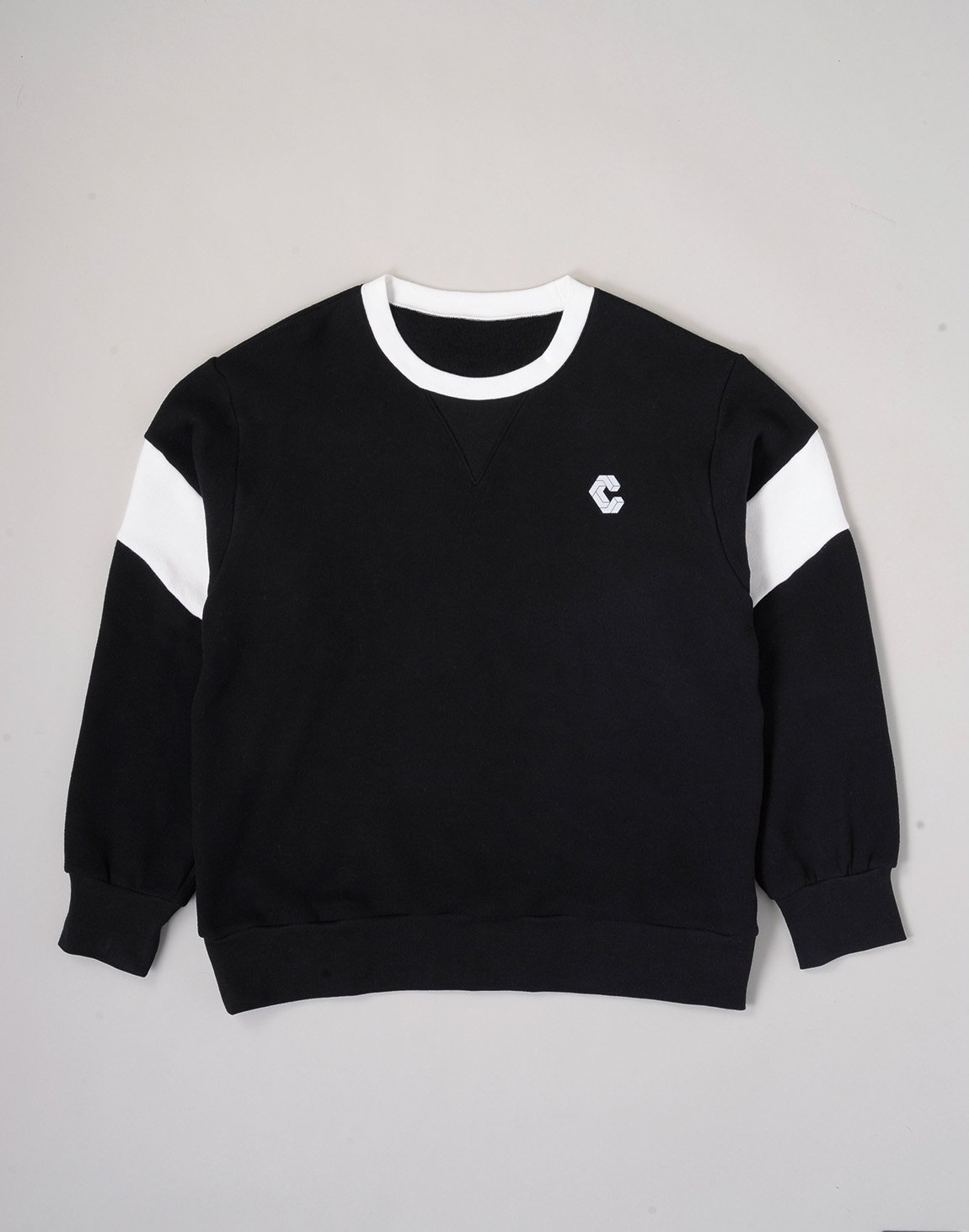 CRONOS LOGO SOFT FLEECE SWEATSHIRT【BLACK】