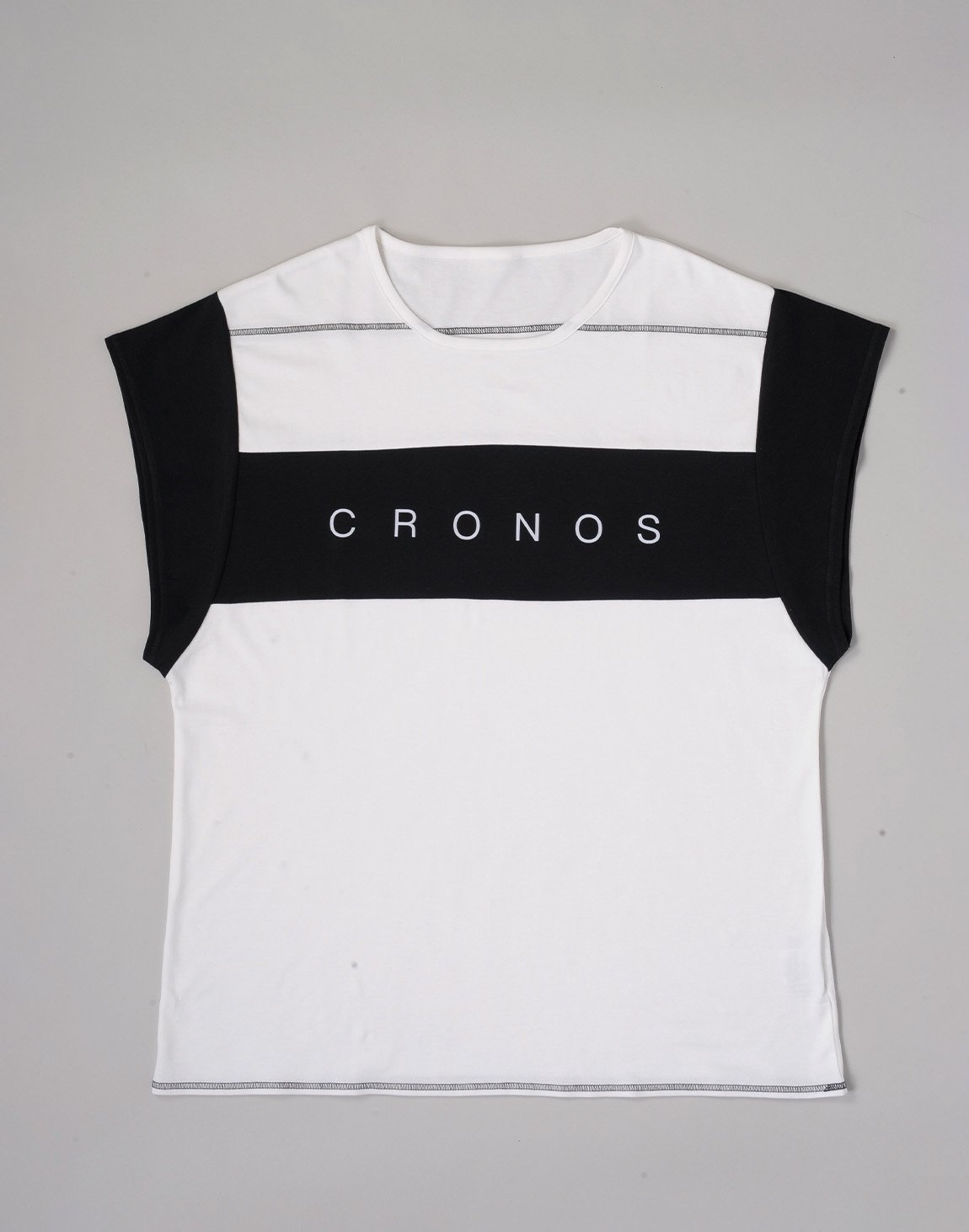 CRONOS BANNER LOGO TOPS【WHITE】