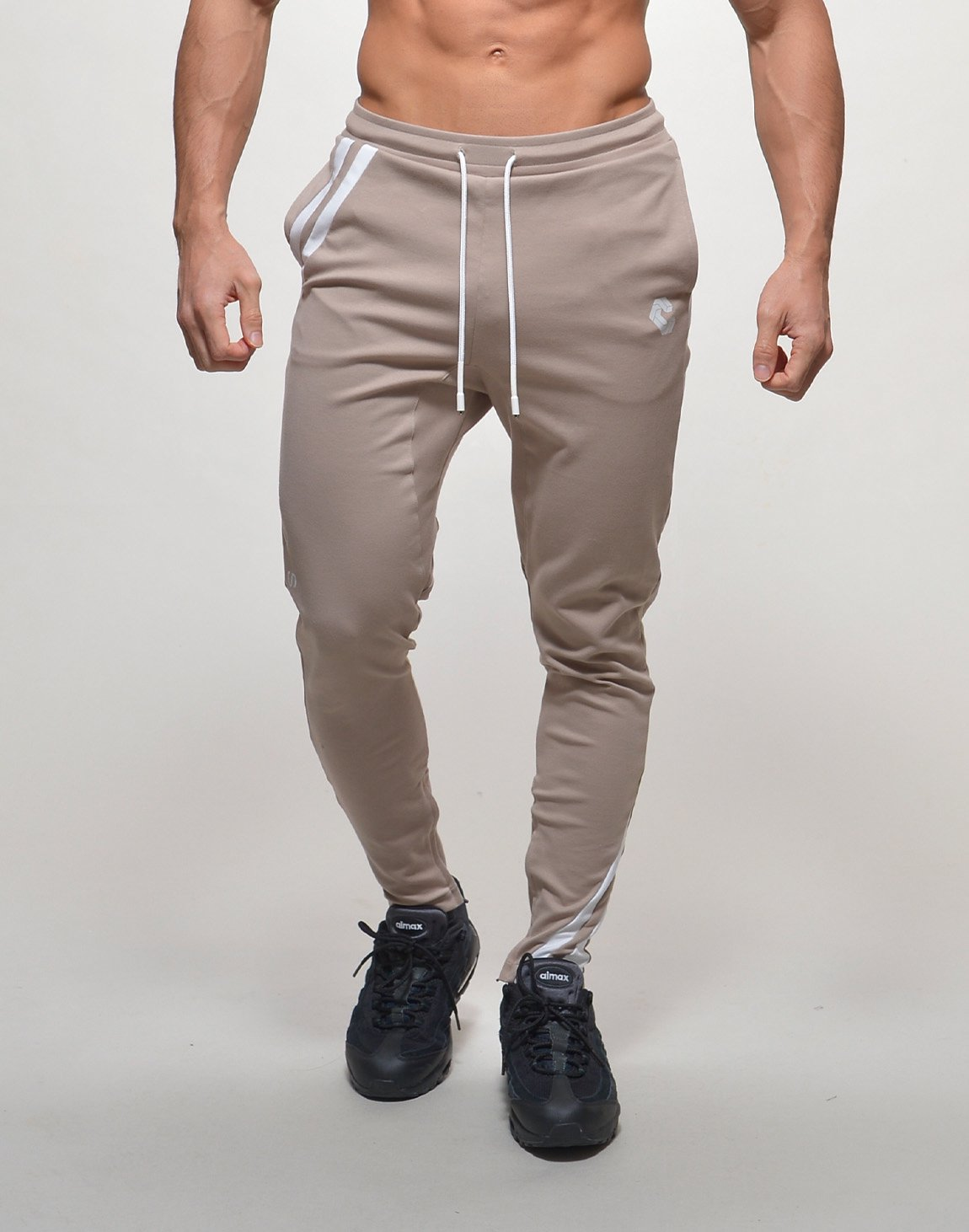 <img class='new_mark_img1' src='https://img.shop-pro.jp/img/new/icons1.gif' style='border:none;display:inline;margin:0px;padding:0px;width:auto;' />CRONOS DIAGONAL LINE PANTS【BEIGE】