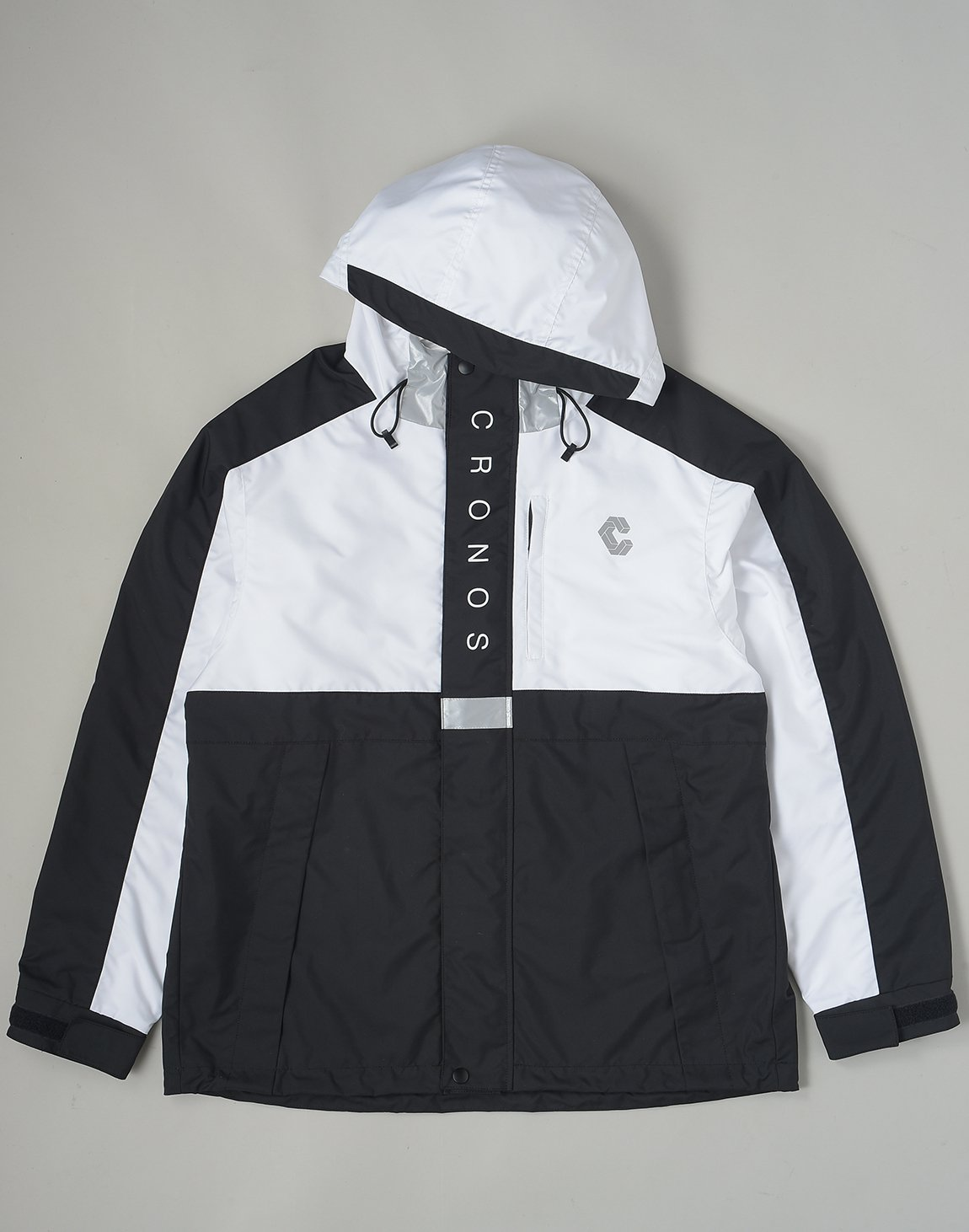 <img class='new_mark_img1' src='https://img.shop-pro.jp/img/new/icons1.gif' style='border:none;display:inline;margin:0px;padding:0px;width:auto;' />CRONOS WIND JAMMER JACKET【WHITE】
