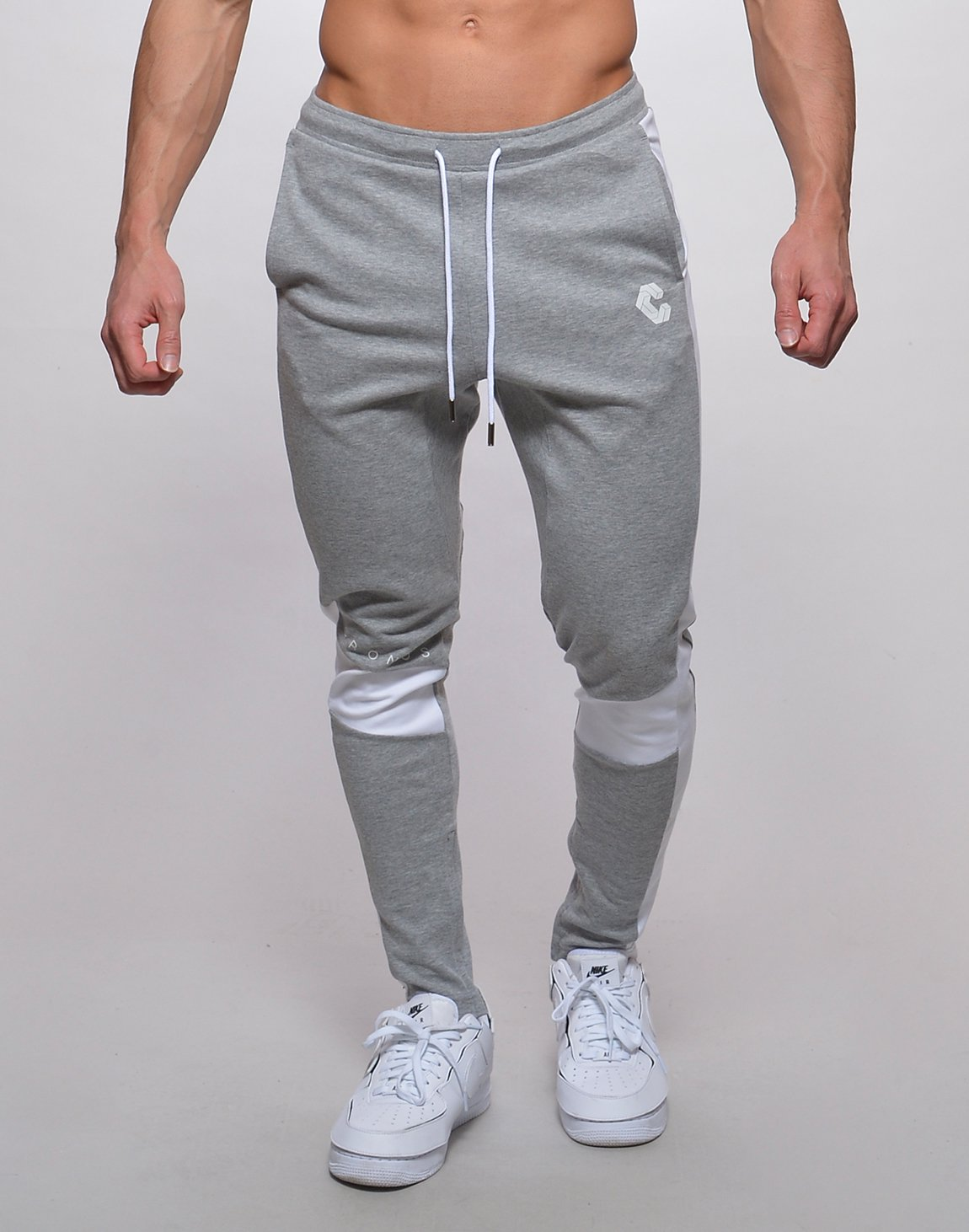<img class='new_mark_img1' src='https://img.shop-pro.jp/img/new/icons1.gif' style='border:none;display:inline;margin:0px;padding:0px;width:auto;' />CRONOS KNEE LINE PANTS【GRAY】
