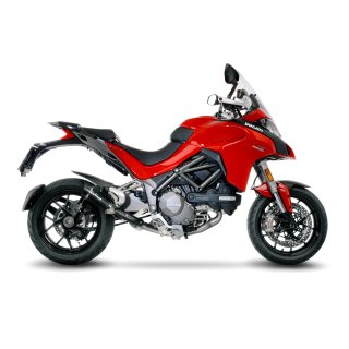 DUCATI MULTISTRADA 1260/S/D-AIR/PIKES PEAK 2018 - 2019 LEOVINCE CAT ELIMINATOR (LINK PIPE)