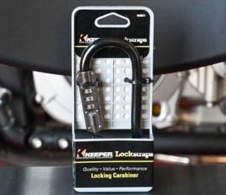 Lock straps ロックストラップ コンビネーションロックカラビナ