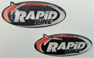 【RAPiD BIKE】 立体ステッカー  送料無料