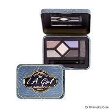 L.A. GIRL Inspiring Eyeshadow  You're Smokin' Hot!,(スモーキーアイ、シルバーブラックシャドウパレット)