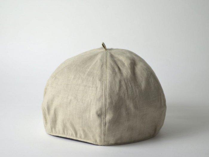 linen beret/NATURAL