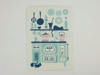 FINLAND ポストカード/キッチン