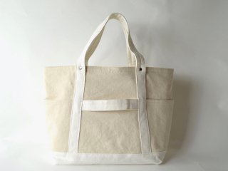 TEJIKA×middle TOOL TOTE /NATURAL