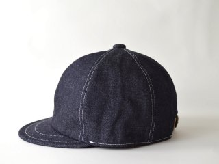 denim bb cap/ INDIGO