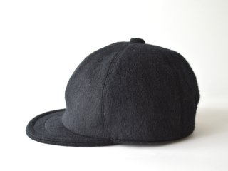 wool bb cap / BLACK